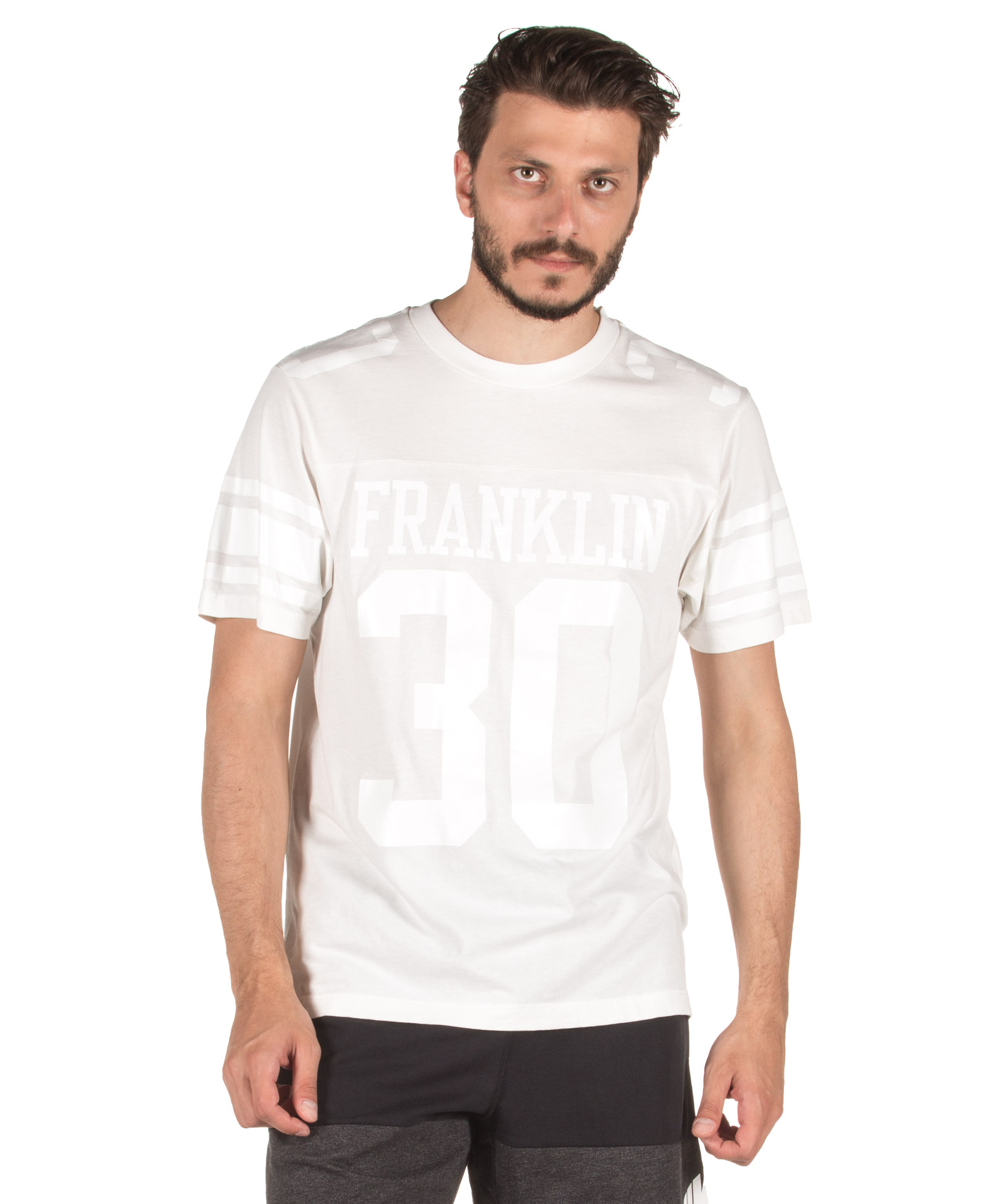 ΕΝΔΥΜΑΤΑ TShirt FRANKLIN MARSHALL TSMF412AN-2244 Λευκό