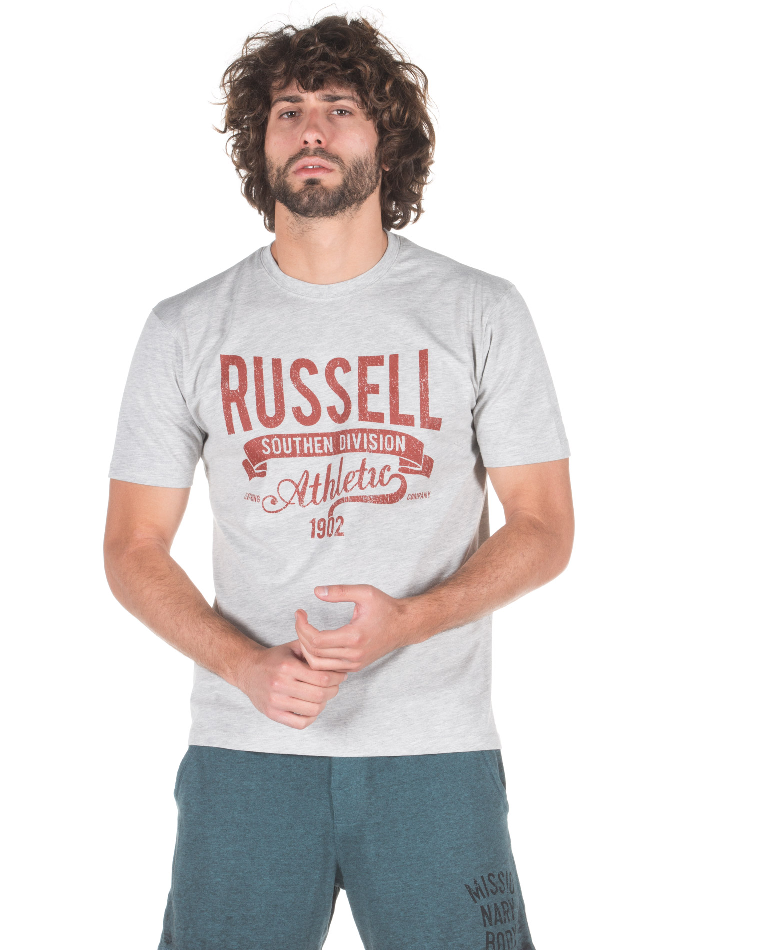 Russell Athletic A8-077-1-091 Γκρί