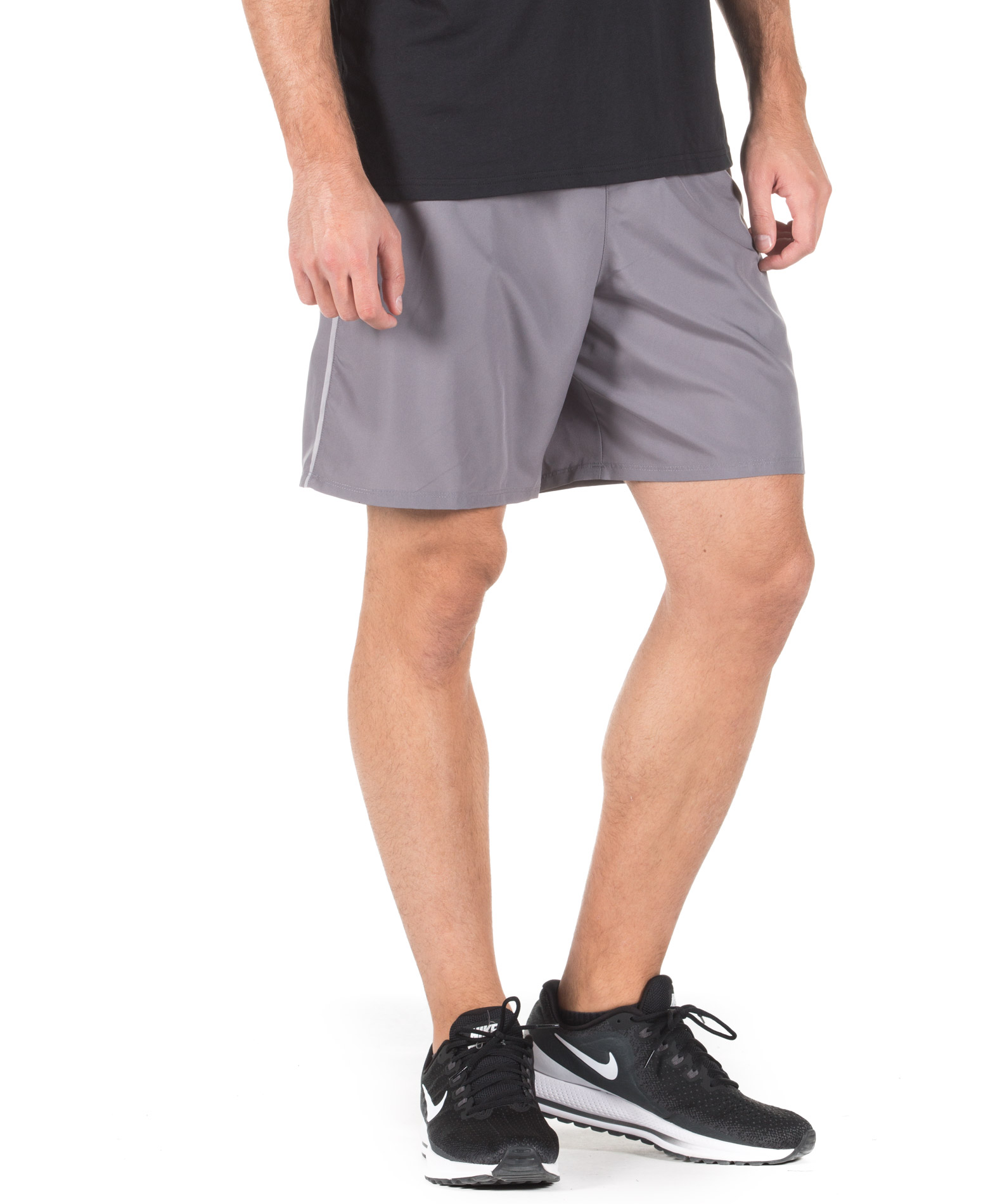 NIKE M NK RUN SHORT 7IN 893043-036 Ανθρακί