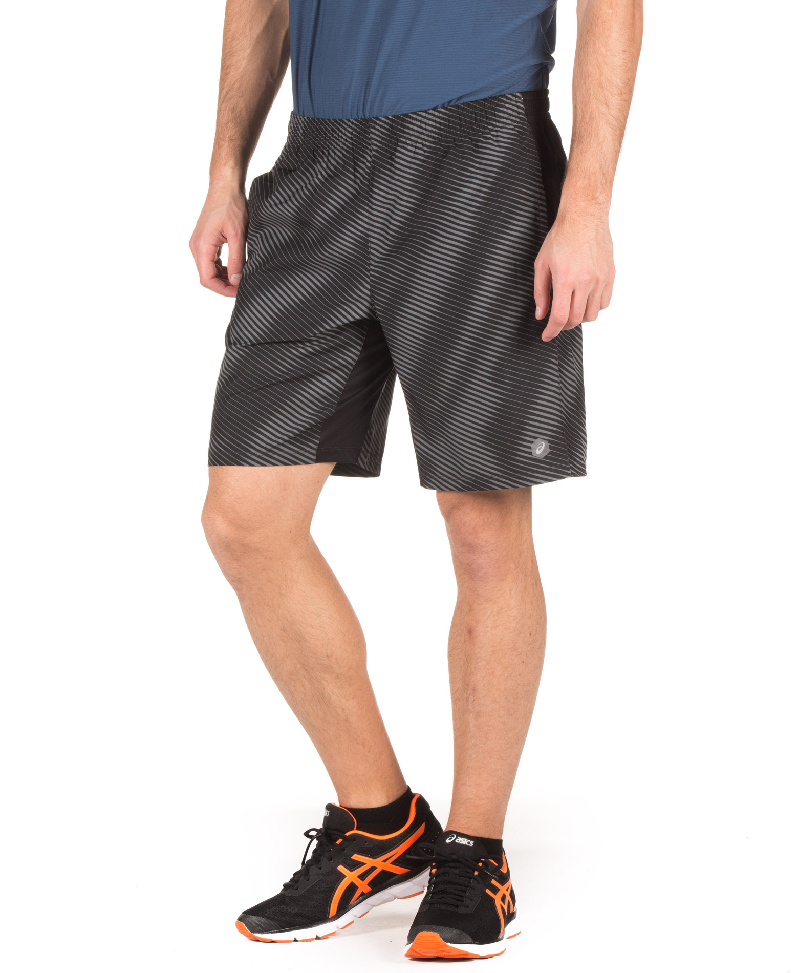 ASICS TRUE FRFM GPX SHORT 155212-1283 Ανθρακί