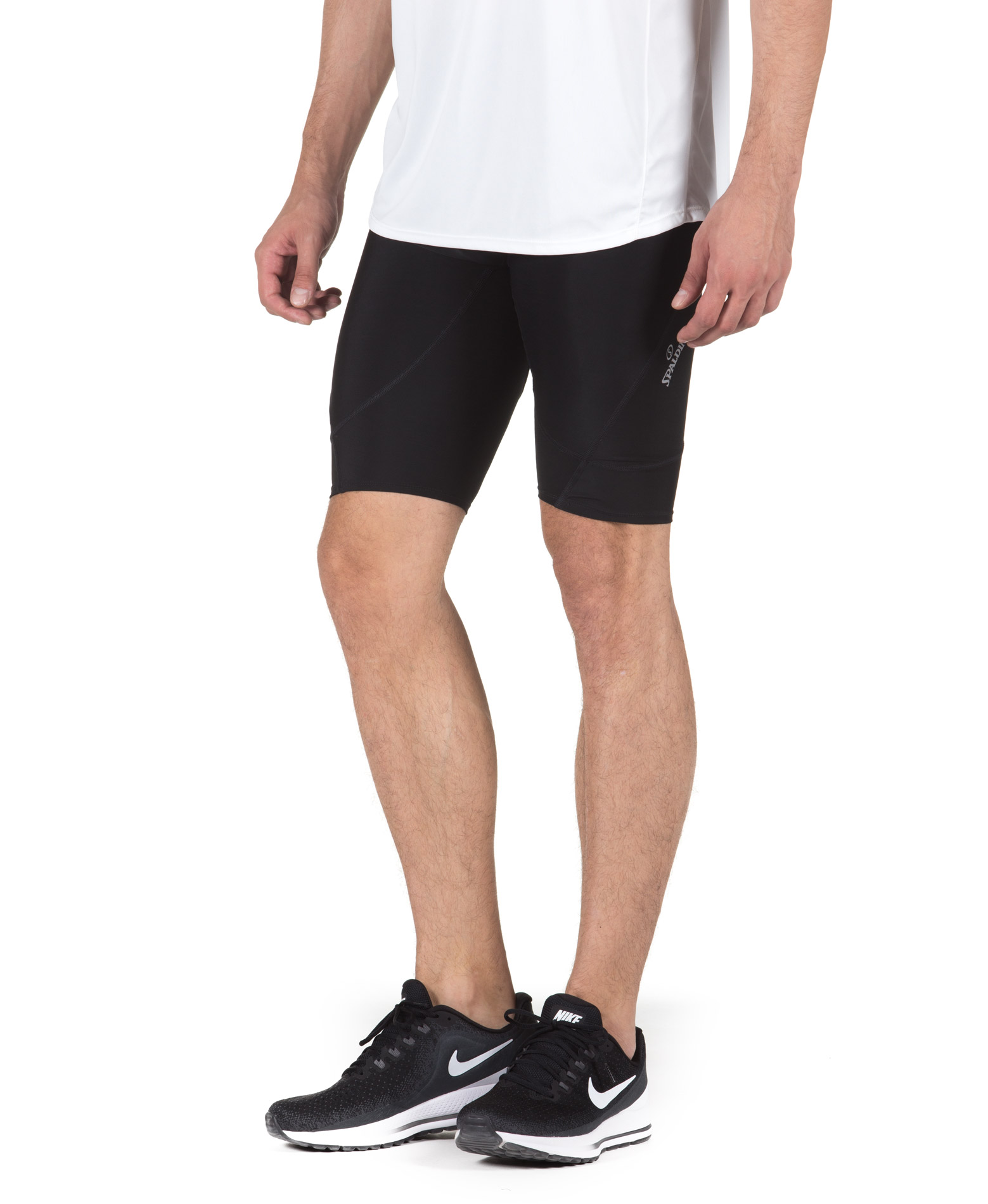 SPALDING MENS RESPONSE BASE LAYER SHORT 0SB006-36 Μαύρο