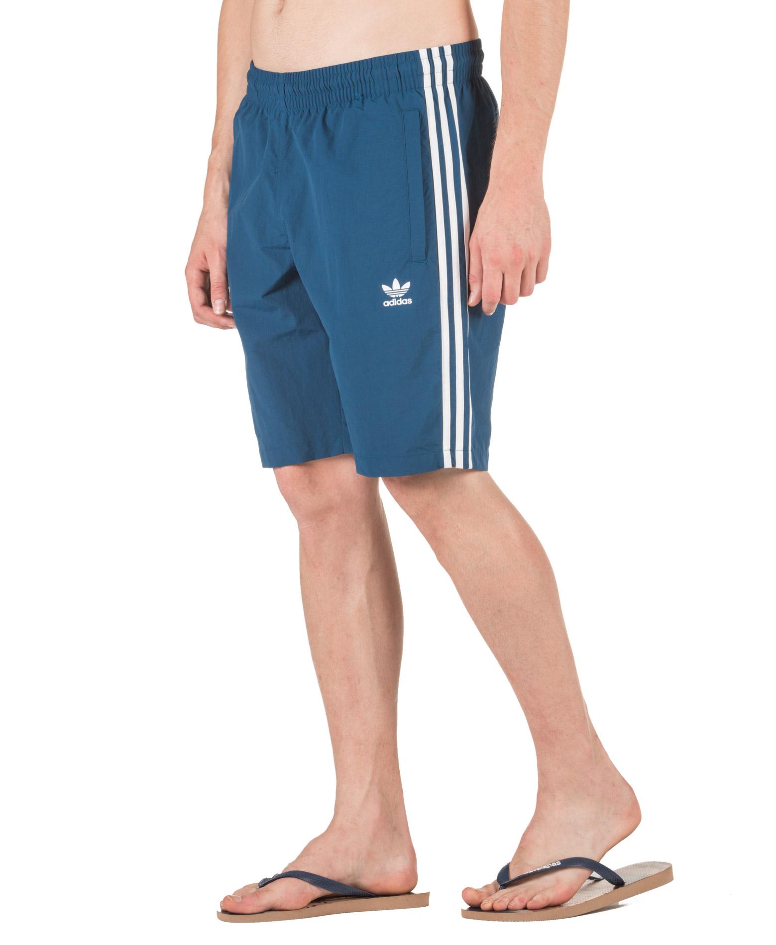 adidas Originals 3-STRIPES SWIM DV1578 Μπλε