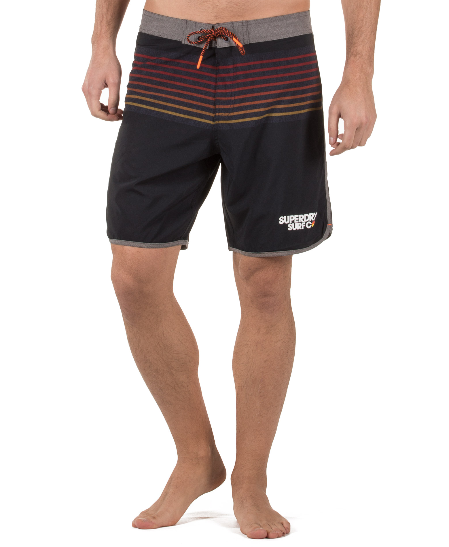 SUPERDRY D2 UPSTATE RETRO BOARDSHORT M30001HQ-49P Μπλέ