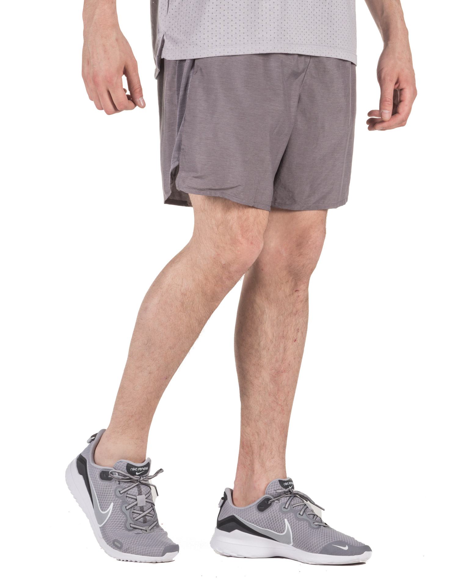 NIKE M NK CHLLGR SHORT 7IN 2IN1 AJ7741-056 Ανθρακί