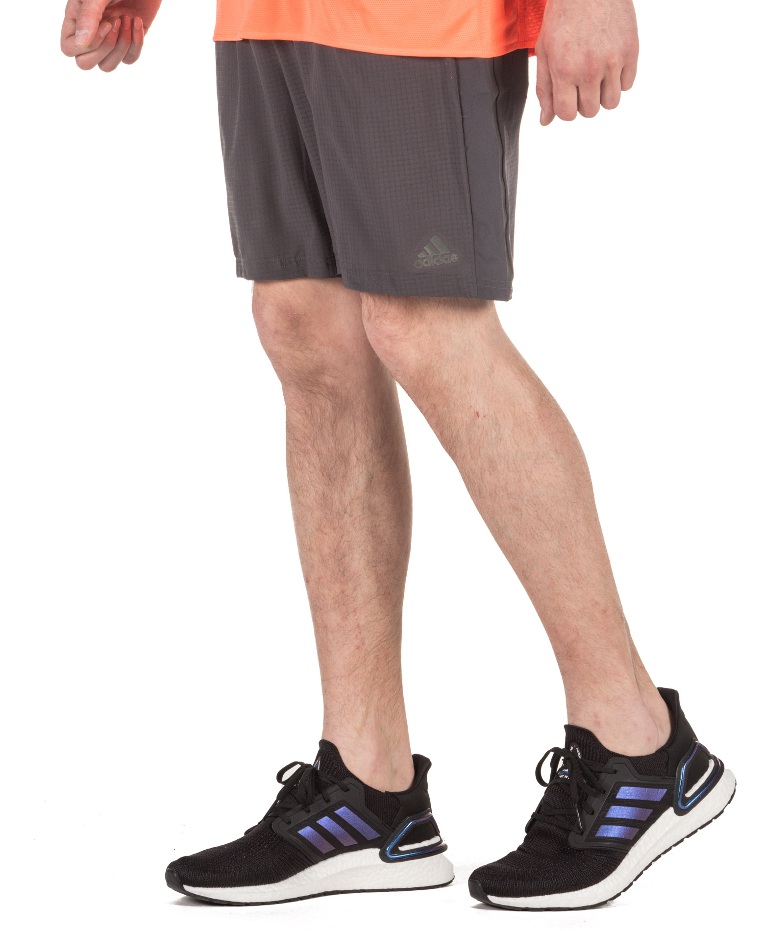 adidas Performance SATURDAY SHORT DQ1901 Ανθρακί