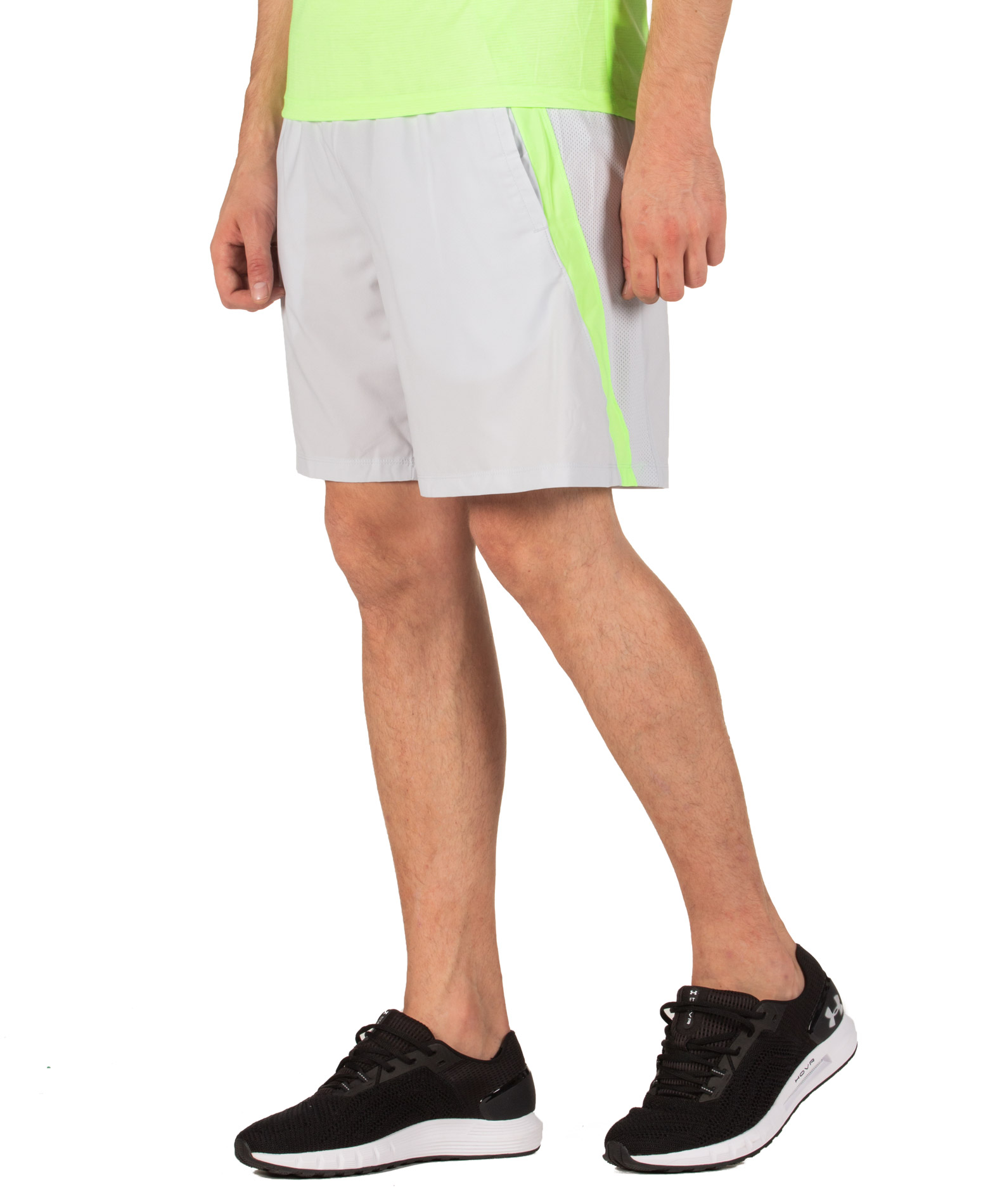 "UNDER ARMOUR LAUNCH SW 7"" SHORT 1326572-014 Γκρί"