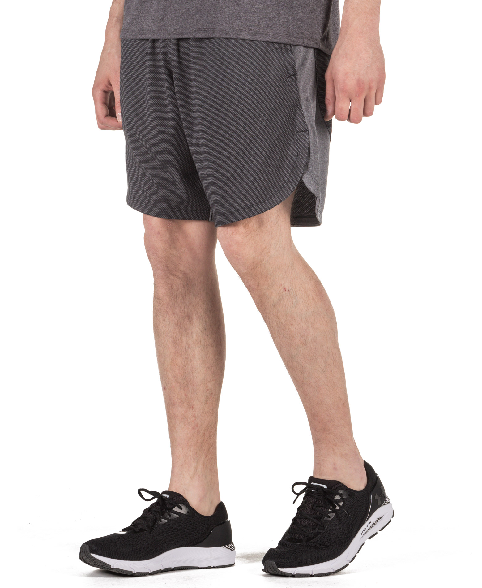 UNDER ARMOUR KNIT TRAINING SHORTS 1351641-001 Ανθρακί
