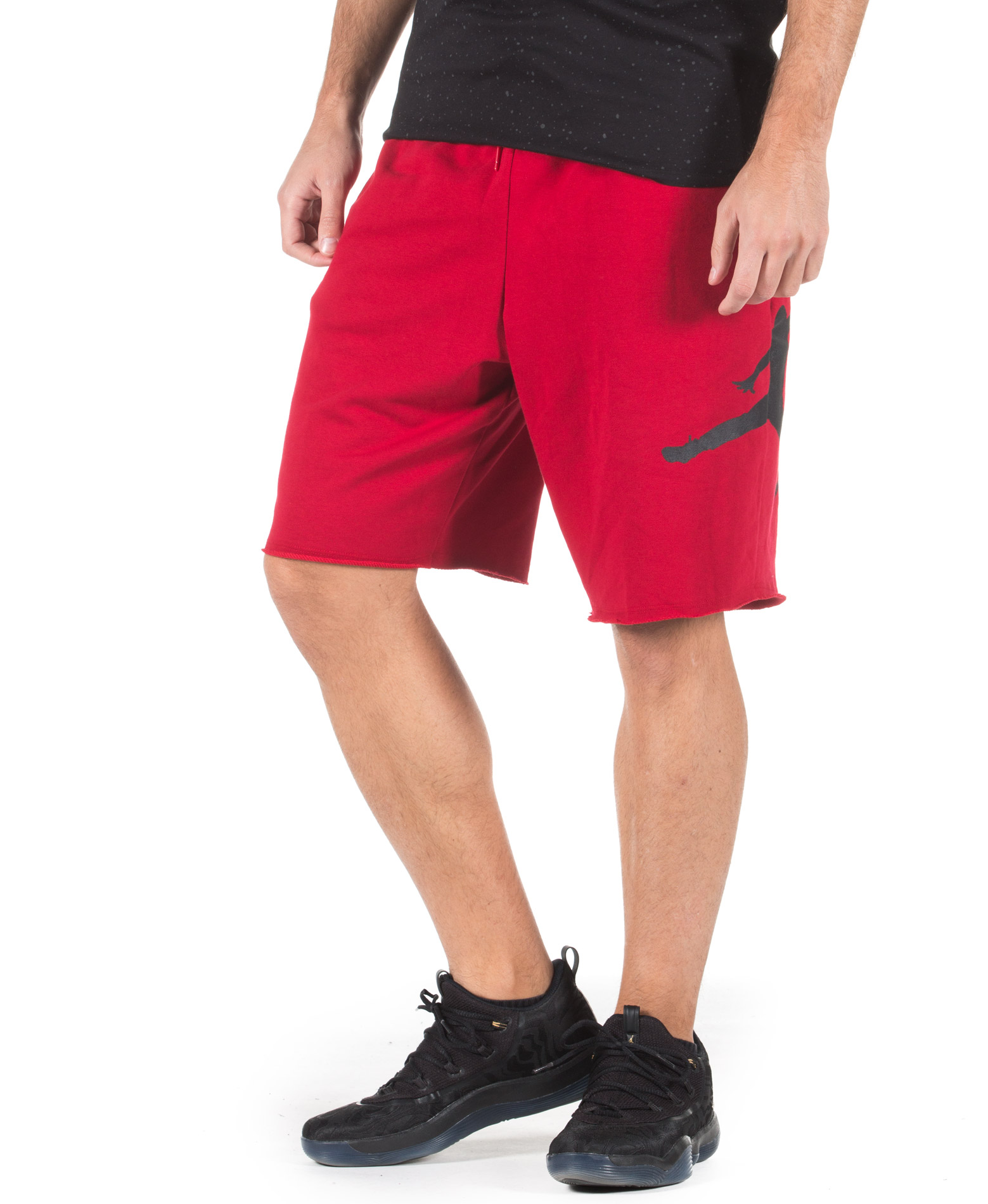 JORDAN JUMPMAN AIR FLEECE SHORT AQ3115-687 Κόκκινο