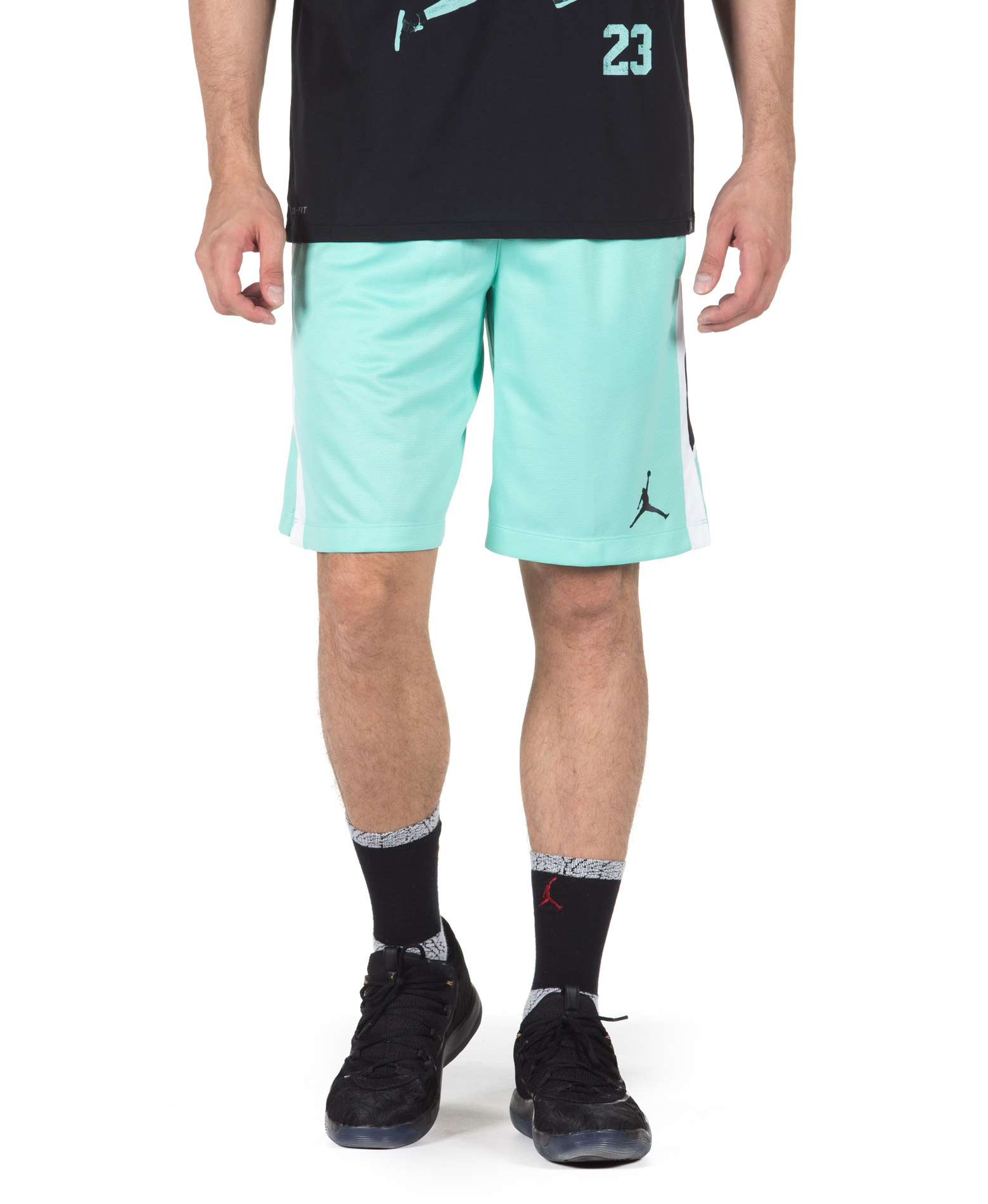 JORDAN FLIGHT BASKETBALL SHORT 887428-349 Πράσινο