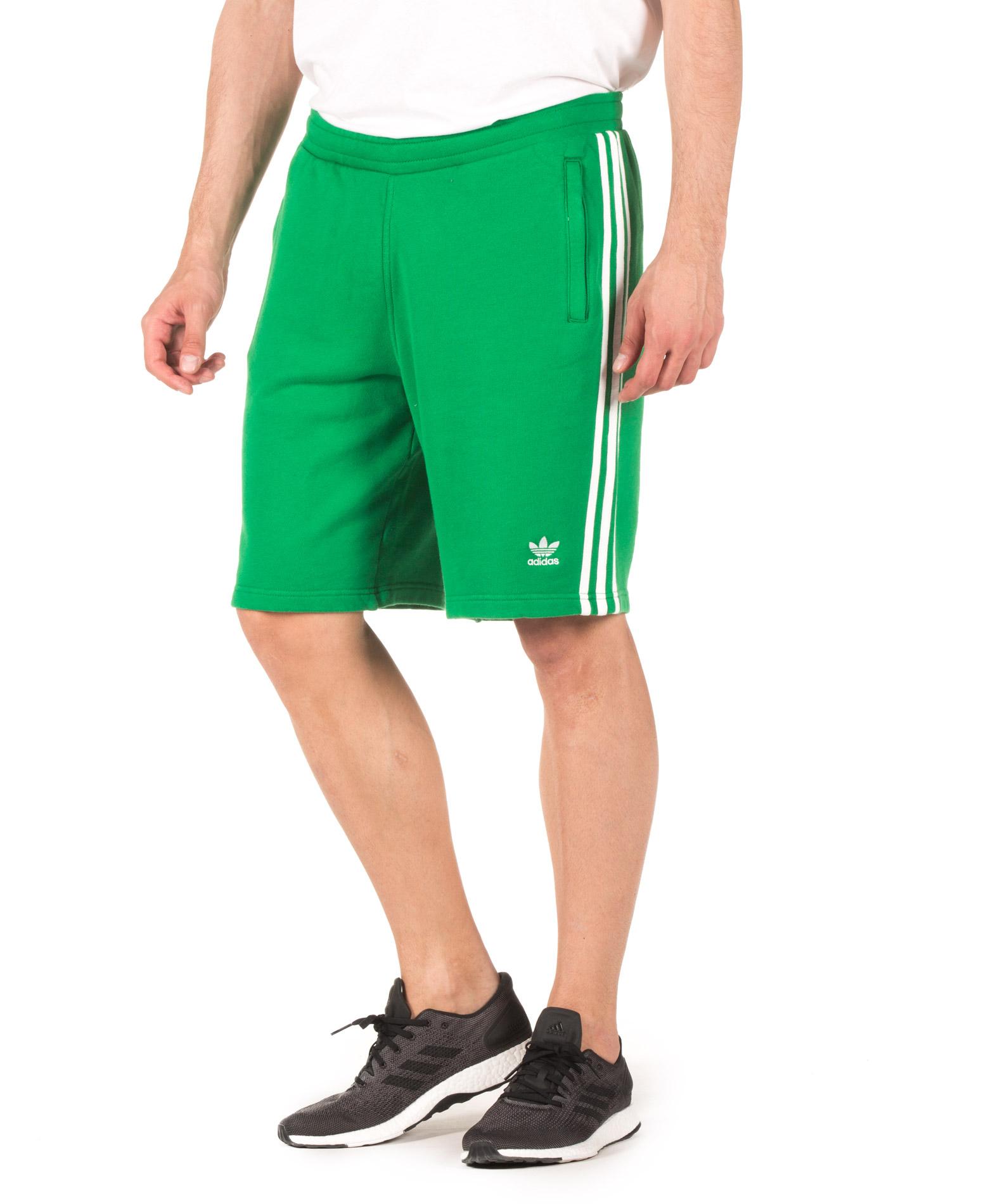 adidas Originals 3-STRIPES SHORT CW2439 Πράσινο