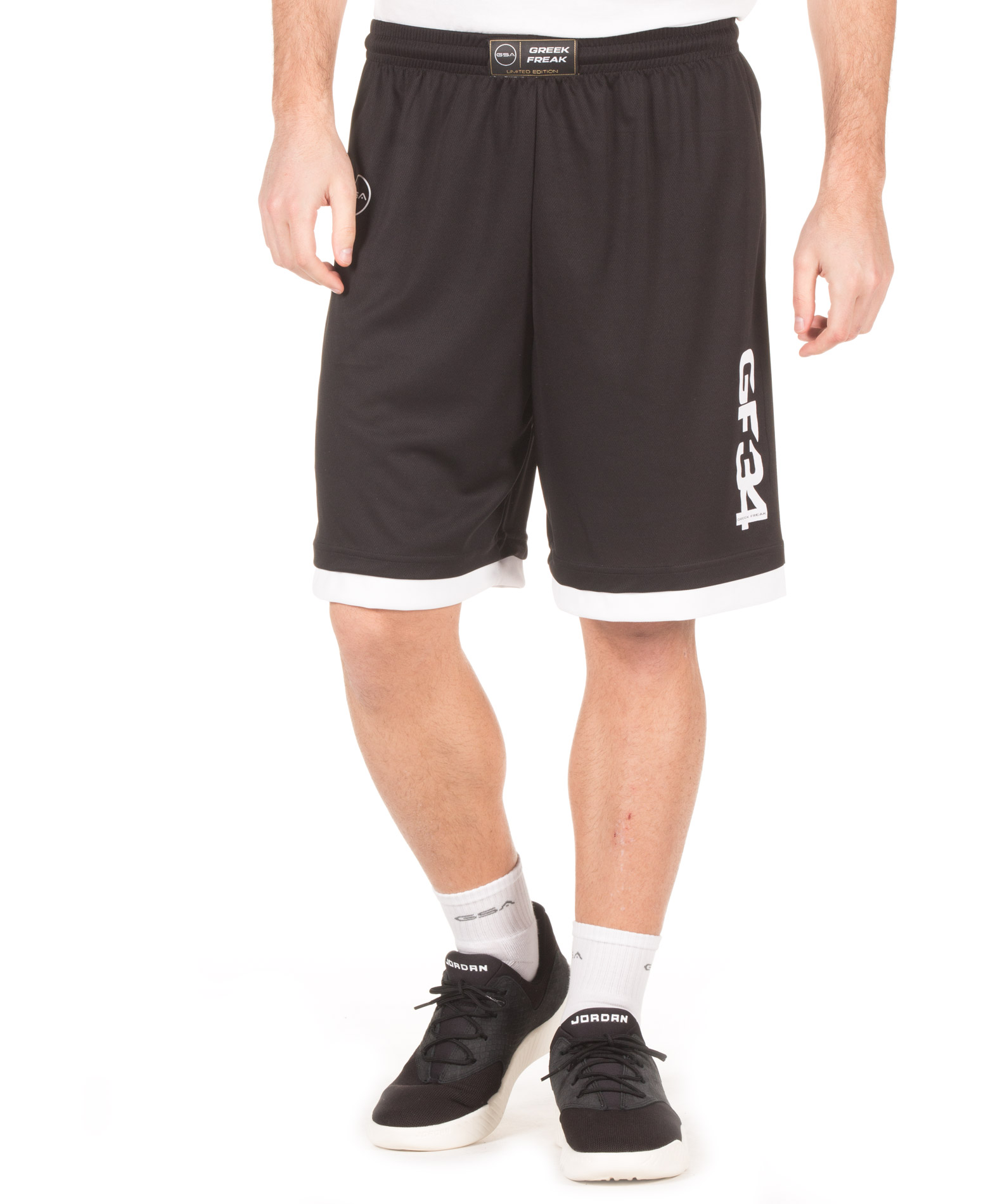 GSA X GREEK FREAK BASKETBALL SHORTS 34-18004-01 Μαύρο