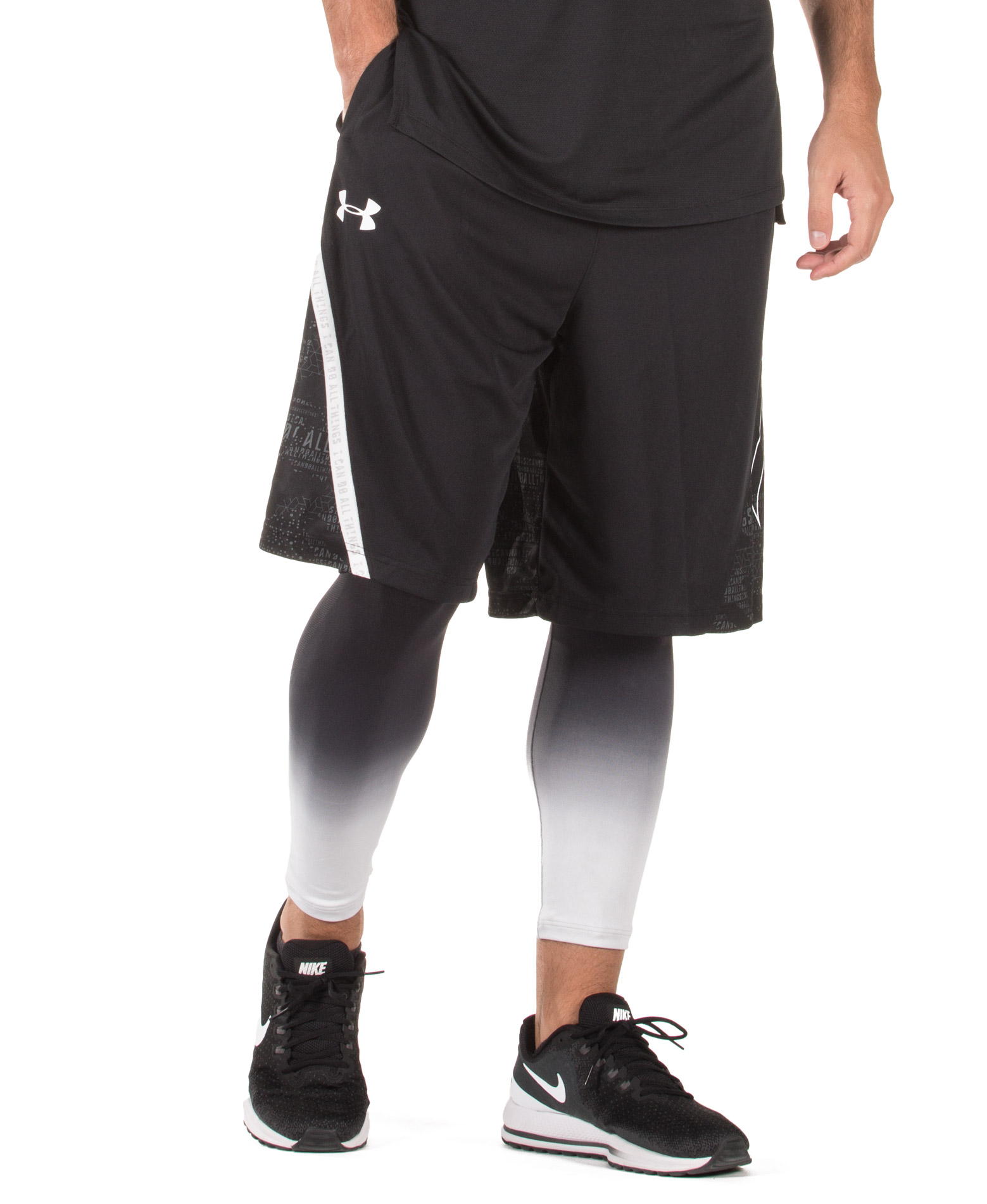 UNDER ARMOUR CURRY 11IN SHORT 1317398-001 Μαύρο