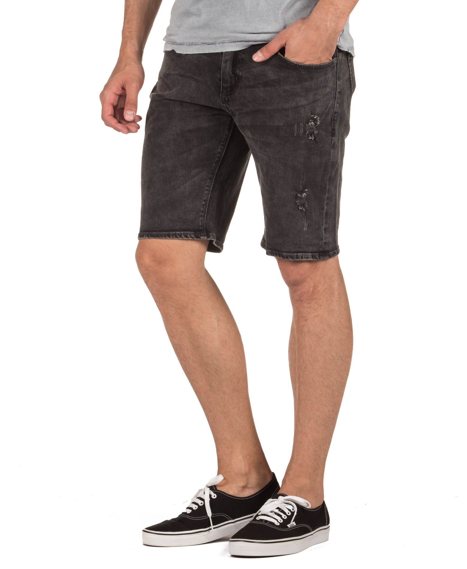 SUPERDRY D2 OFFICER SLIM SHORT M71901JQF1-NT4 Τζήν