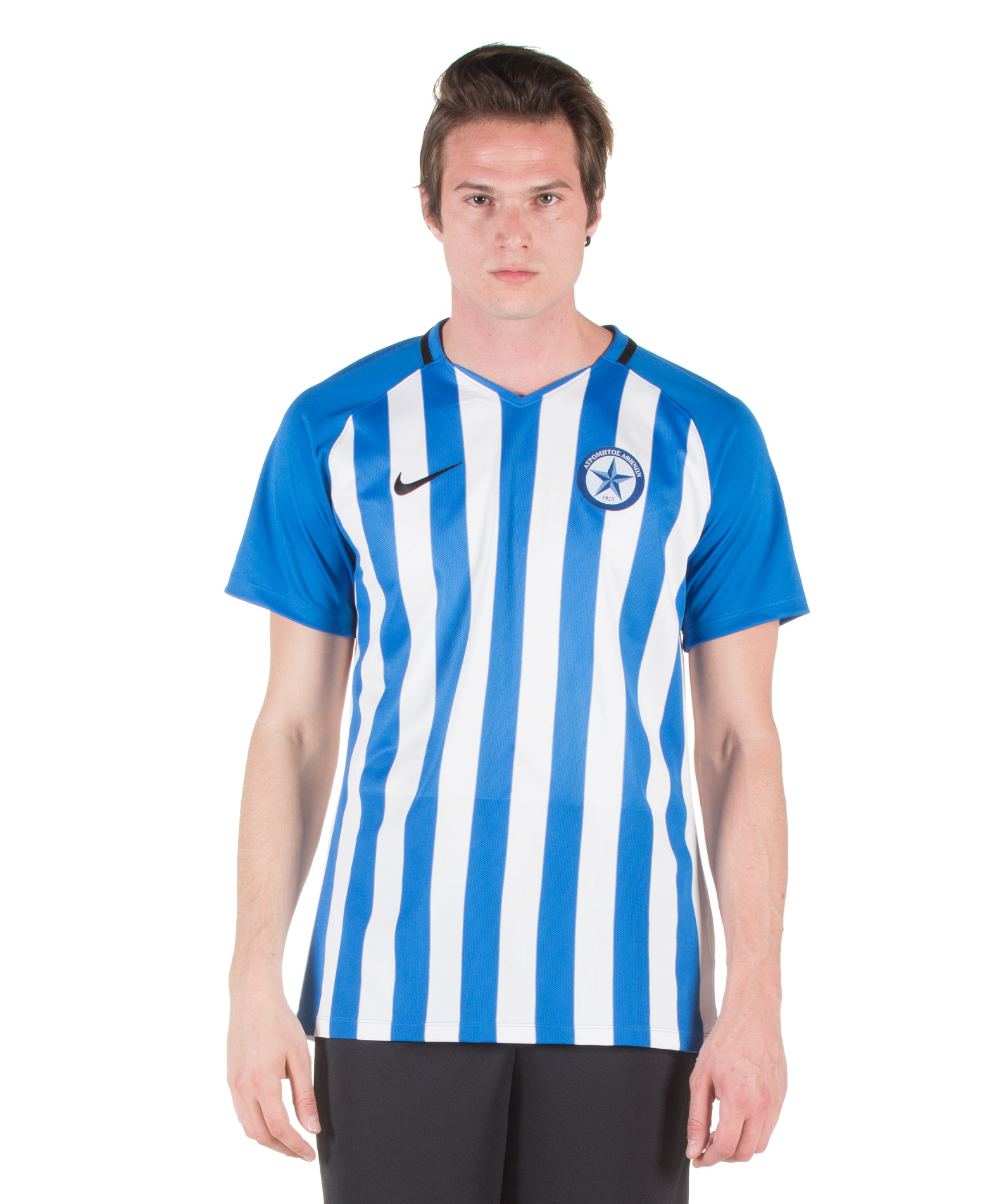 NIKE STRIPED DIVISION SS JERSEY ATROMITOS FC 894081-464 Λευκό