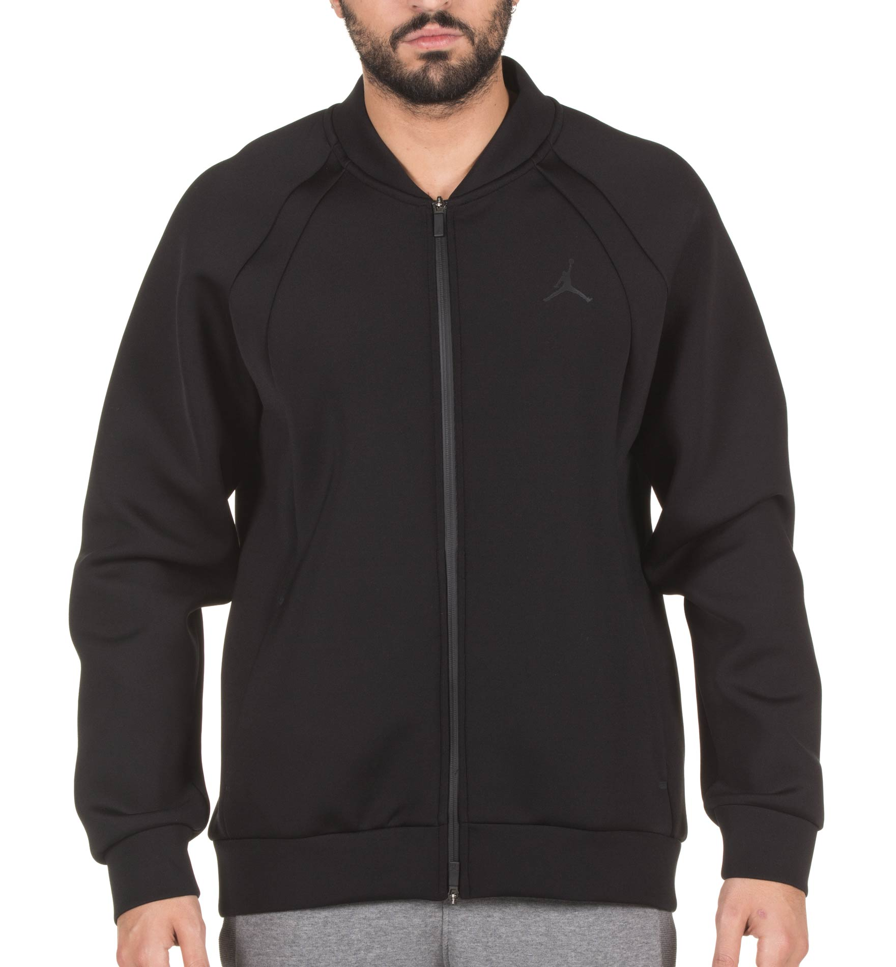 JORDAN 23 MODERN FLEECE JKT 887776-010 Μαύρο
