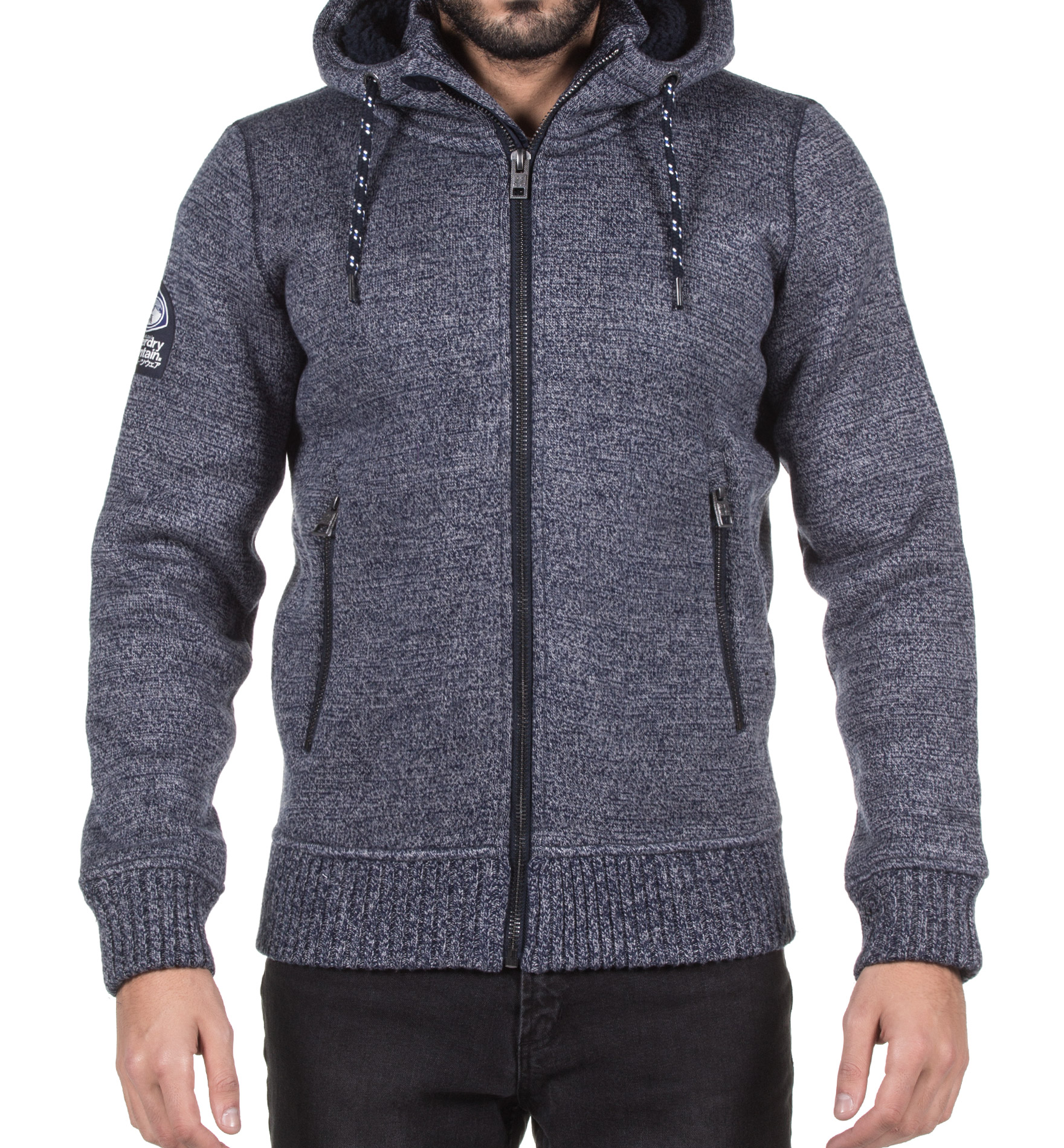 SUPERDRY EXPEDITION ZIPHOOD M20001MP-IA5 Γκρί
