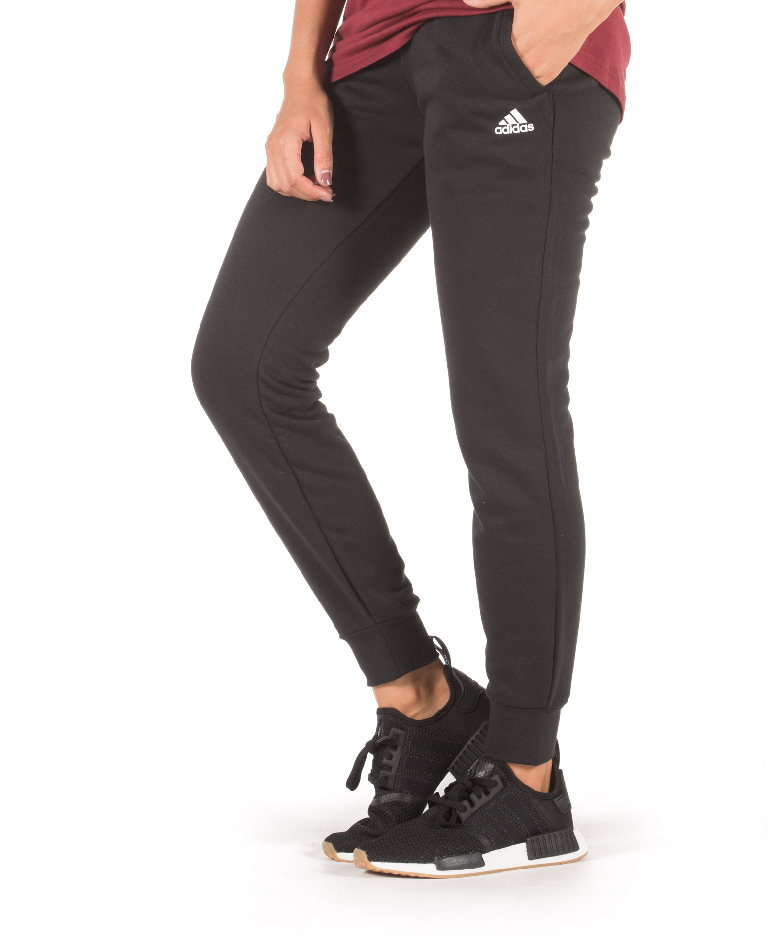 adidas Performance ESS SOLID PANT S97159 Μαύρο