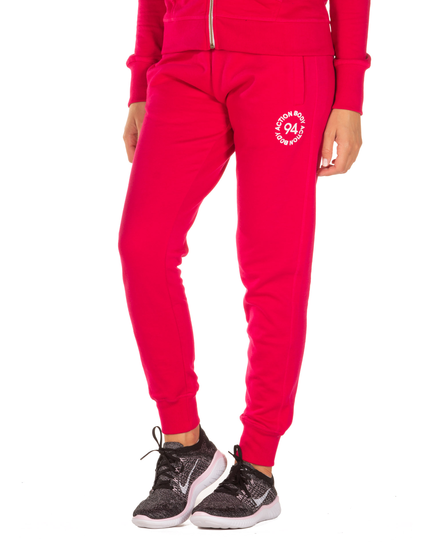 BODY ACTION RELAXED JOGGERS 021950-01-11A Φούξια