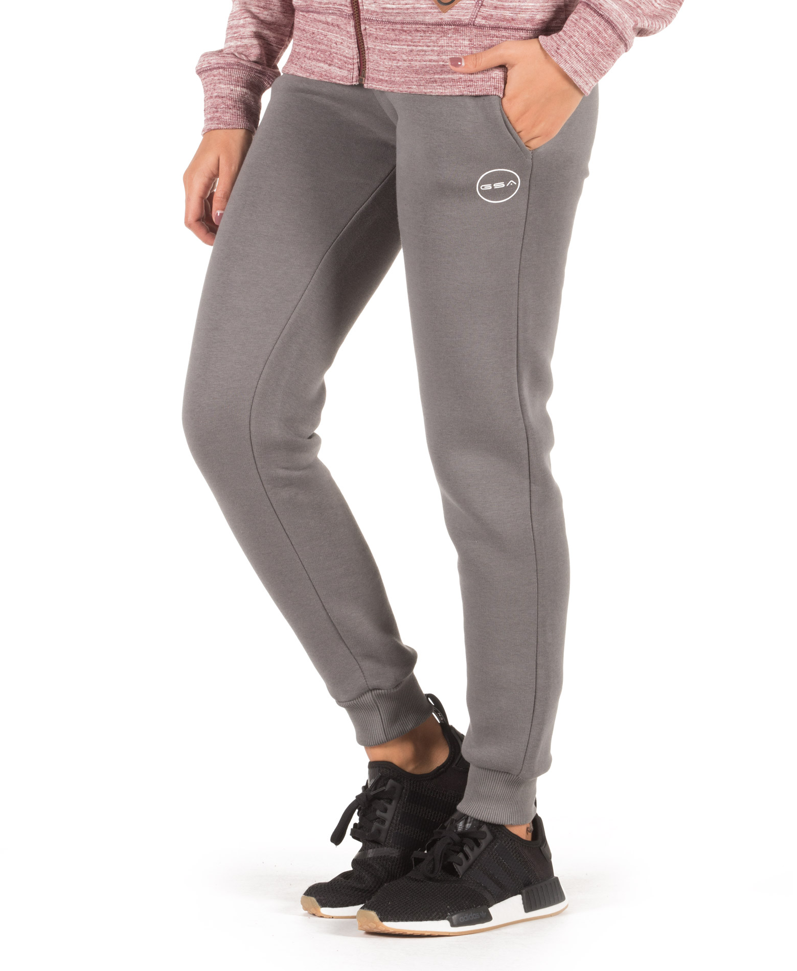 GSA SUPERCOTTON JOGGER SWEATPANTS 17-28033-06 CHARCOAL Ανθρακί