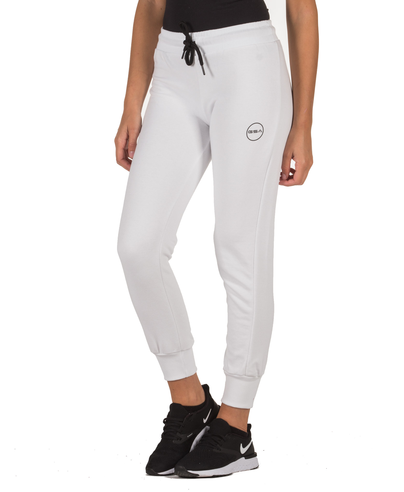 GSA SWEATPANTS WMN TEMPO JOGGER 17-28031-STAR WHITE Λευκό