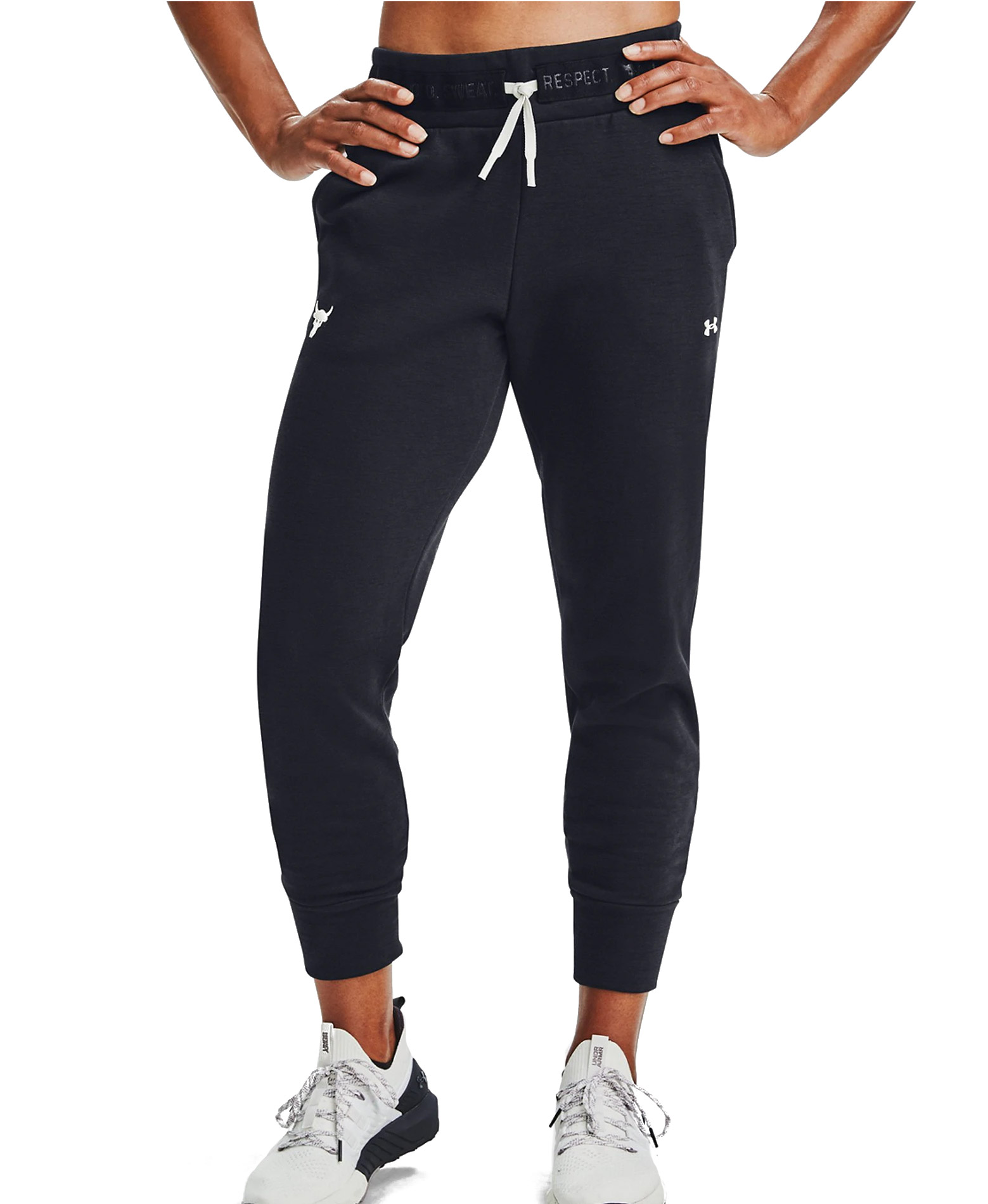 UNDER ARMOUR PRJCT ROCK CC FLEECE PANT 1356987-001 Μαύρο