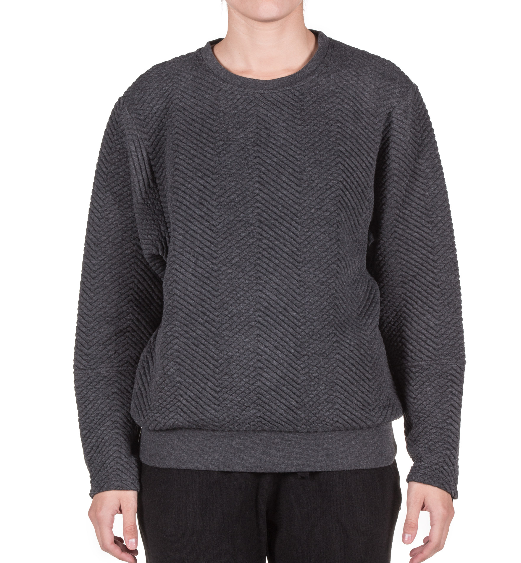 O'NEILL LW QUILTED SWEATSHIRT 7P6416-8029 Ανθρακί
