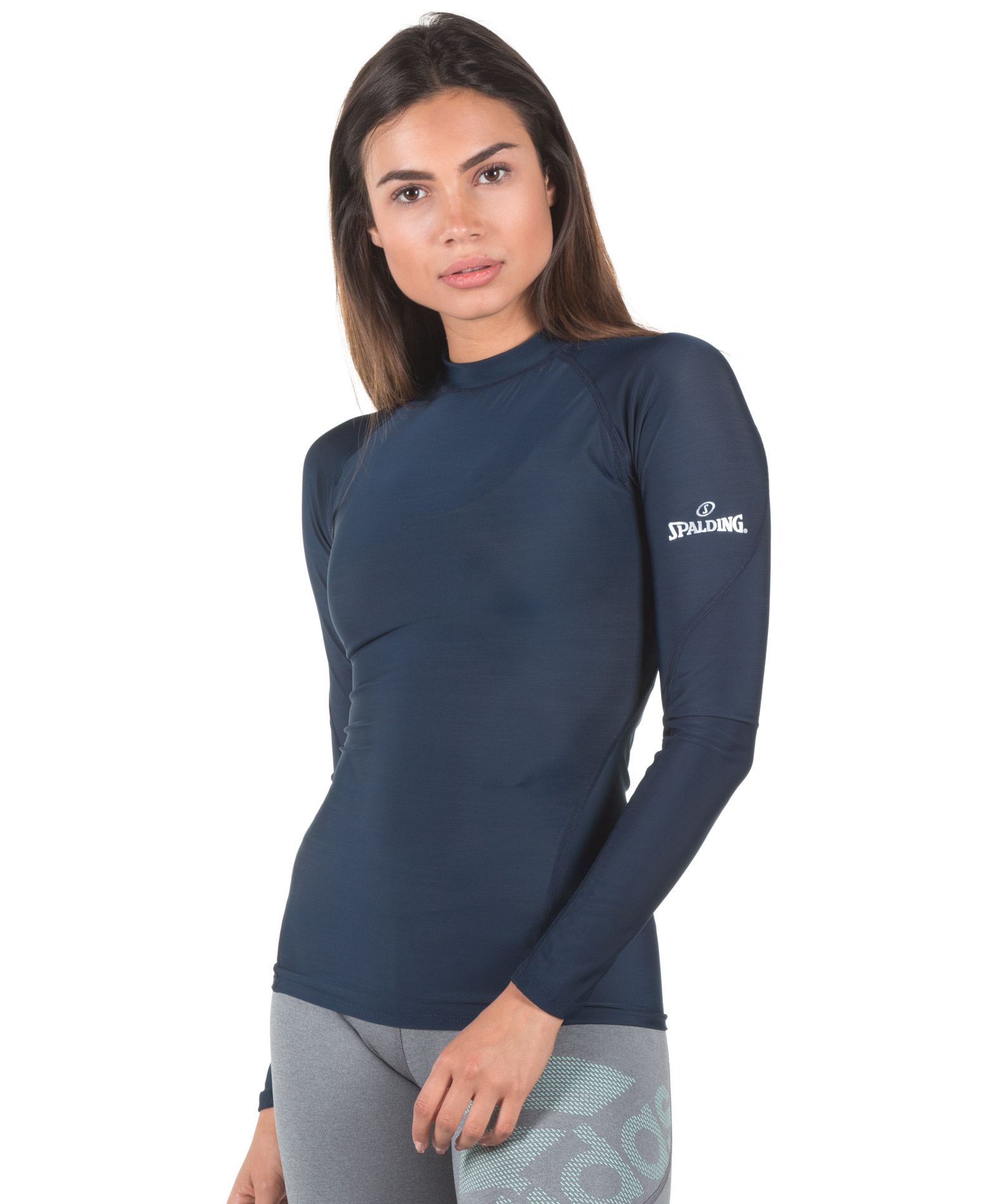 SPALDING LADIES RESPONSE LS BASE LAYER 0SB010-32 Μπλε