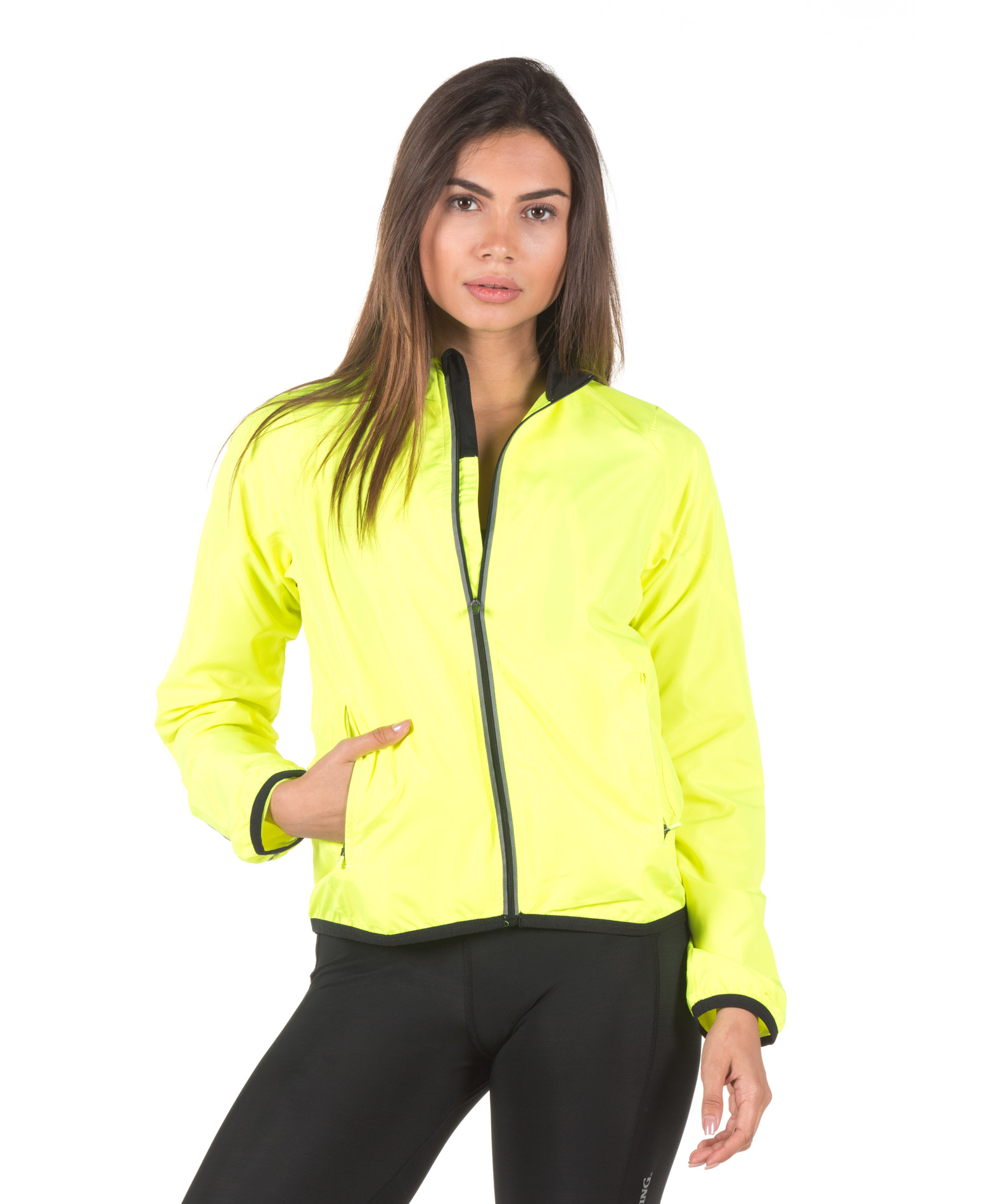 SPALDING LADIES ADRENALIN JACKET 0S6004-YF Λαχανί