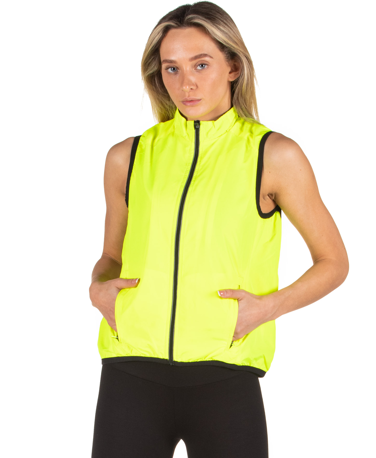 SPALDING LADIES EXHILARATION GILET 0S6006-YF Λαχανί