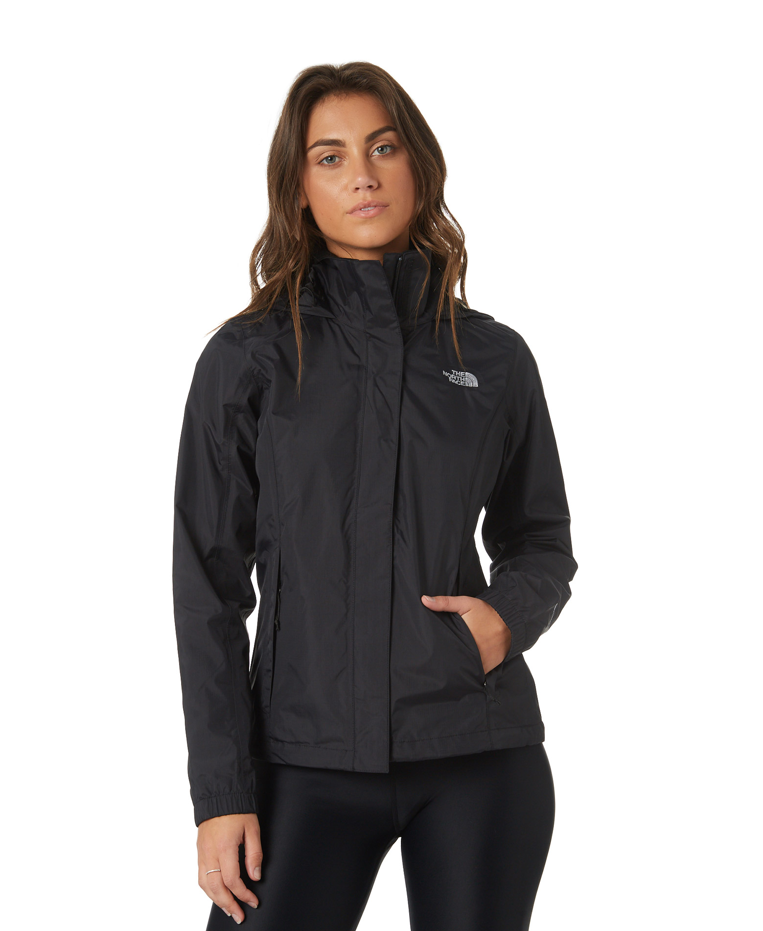 THE NORTH FACE W RESOLVE JKT NFAQBJJK3-JK3 Μαύρο
