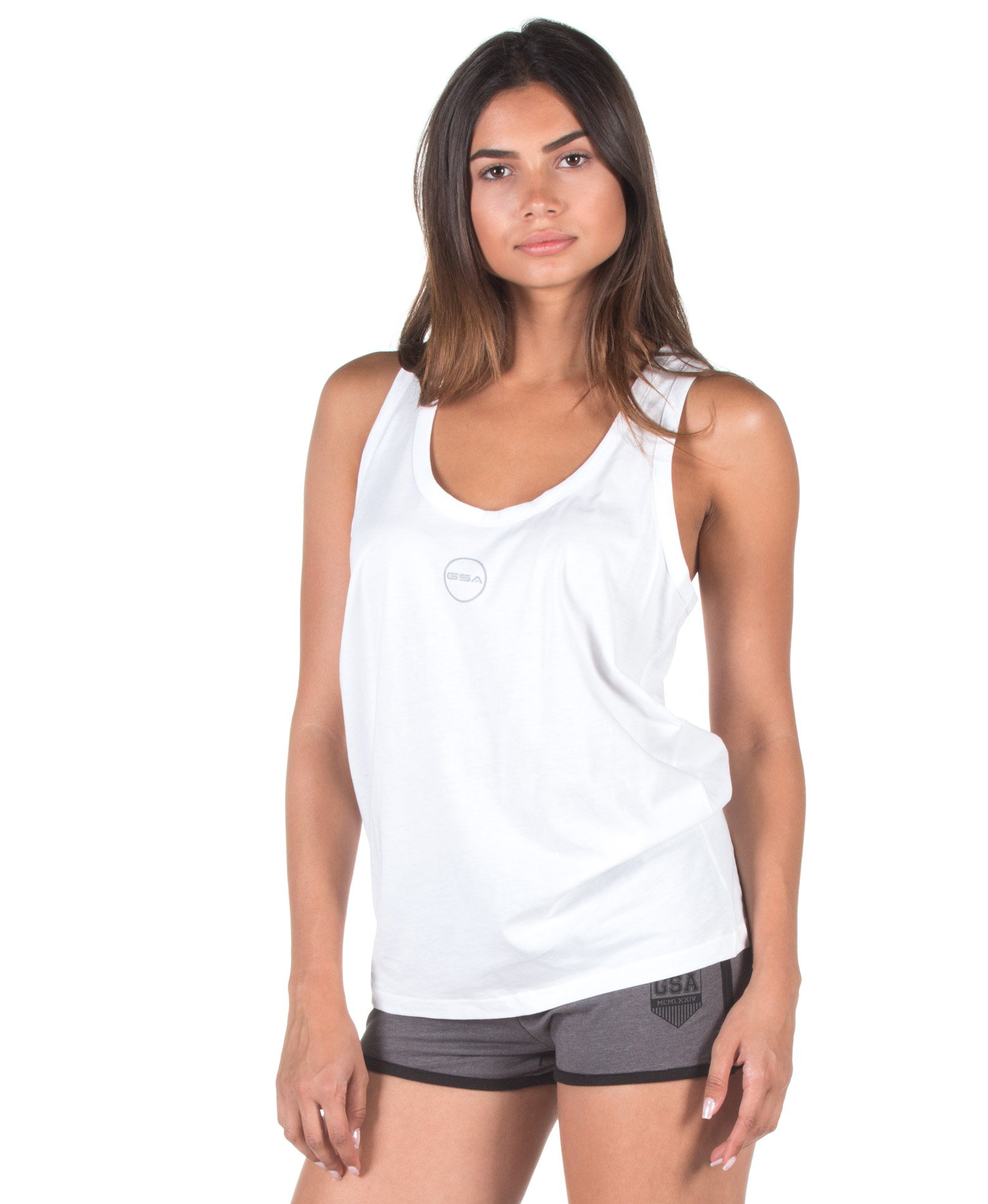 GSA BASIC T-BACK 88-2714-WHITE Λευκό