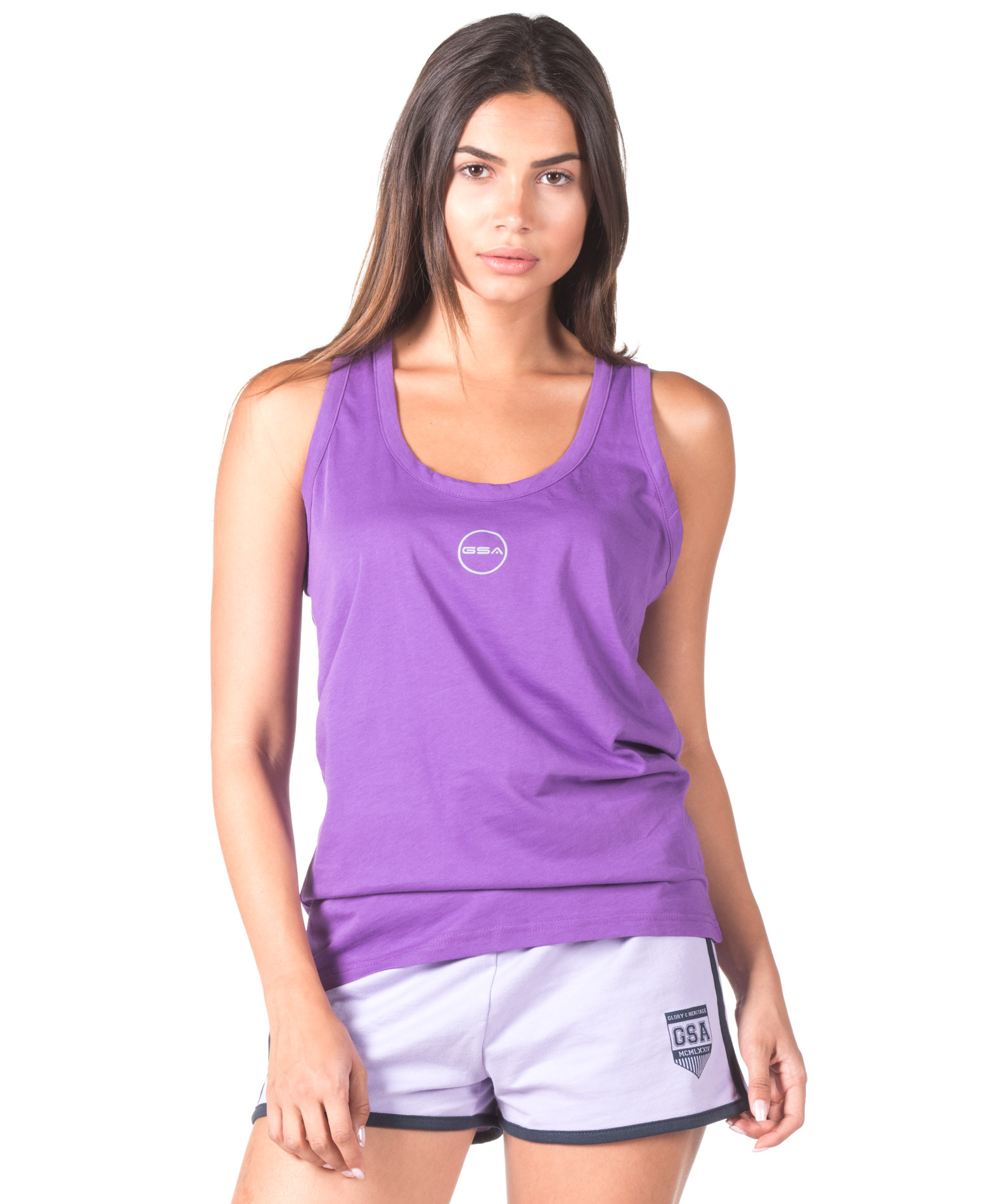 GSA BASIC T-BACK 88-2714-PURPLE Μωβ