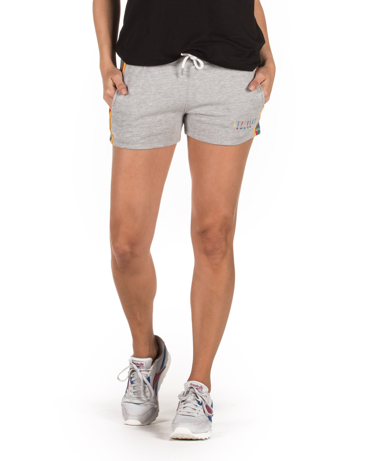 SUPERDRY D3 CARLY CARNIVAL SHORTS G71559AR-D1H Γκρί