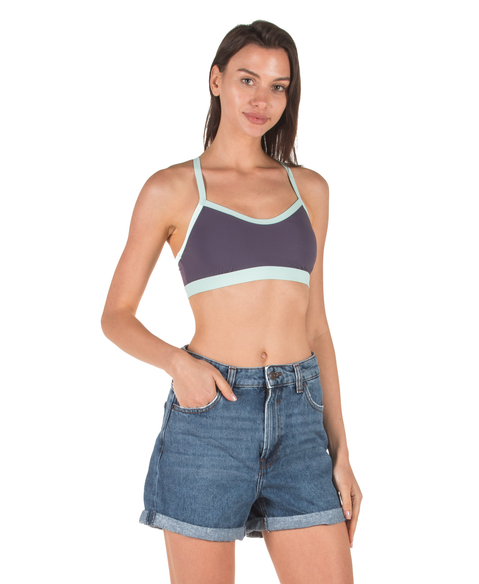 adidas Performance BW ALL ME TOP DT4033 Μωβ