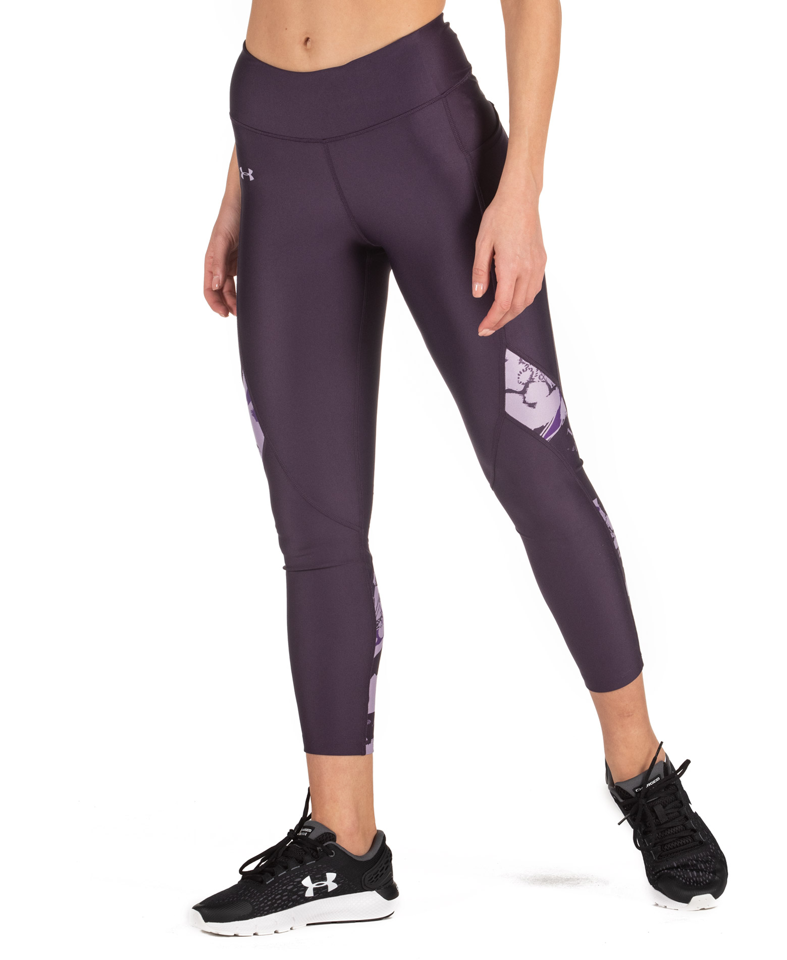 UNDER ARMOUR WHM HG ARMOUR PRINTED ANKLE CROP 1355503-541 Μωβ
