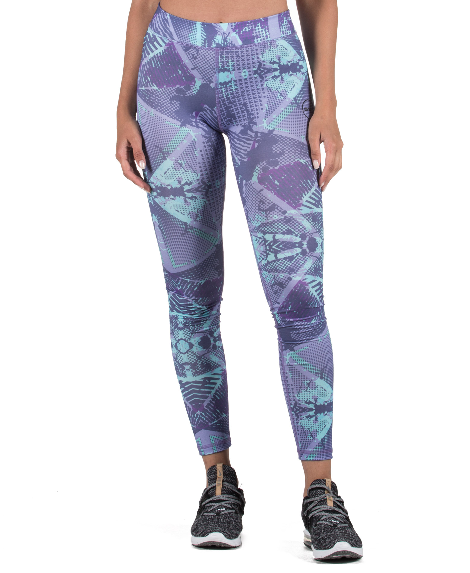 GSA HYDRO+ UP_FIT LEGGINGS 17-28077-TYPE 05 Μωβ