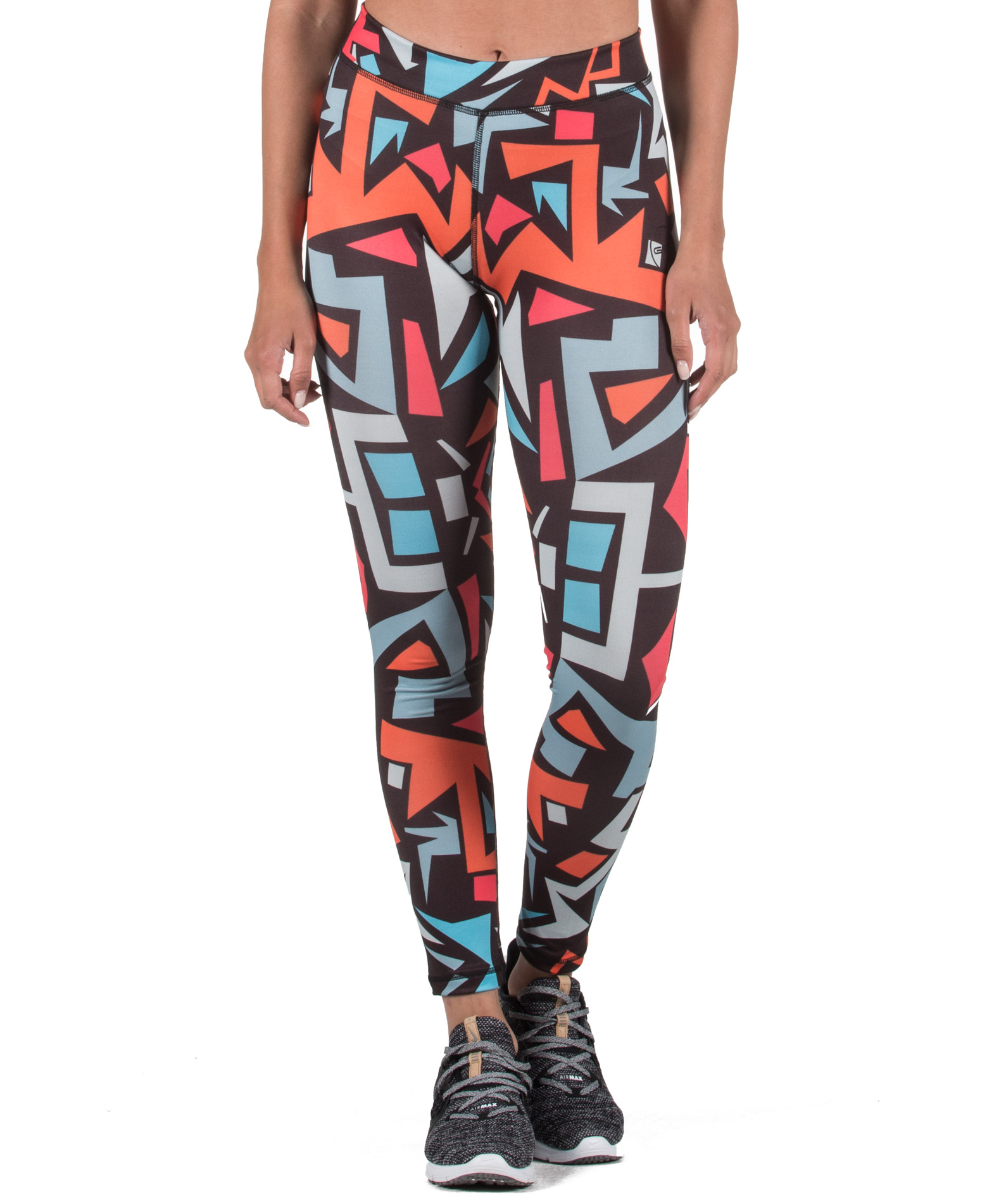 GSA HYDRO+ UP_FIT LEGGINGS 17-28077-TYPE 03 Πολύχρωμο