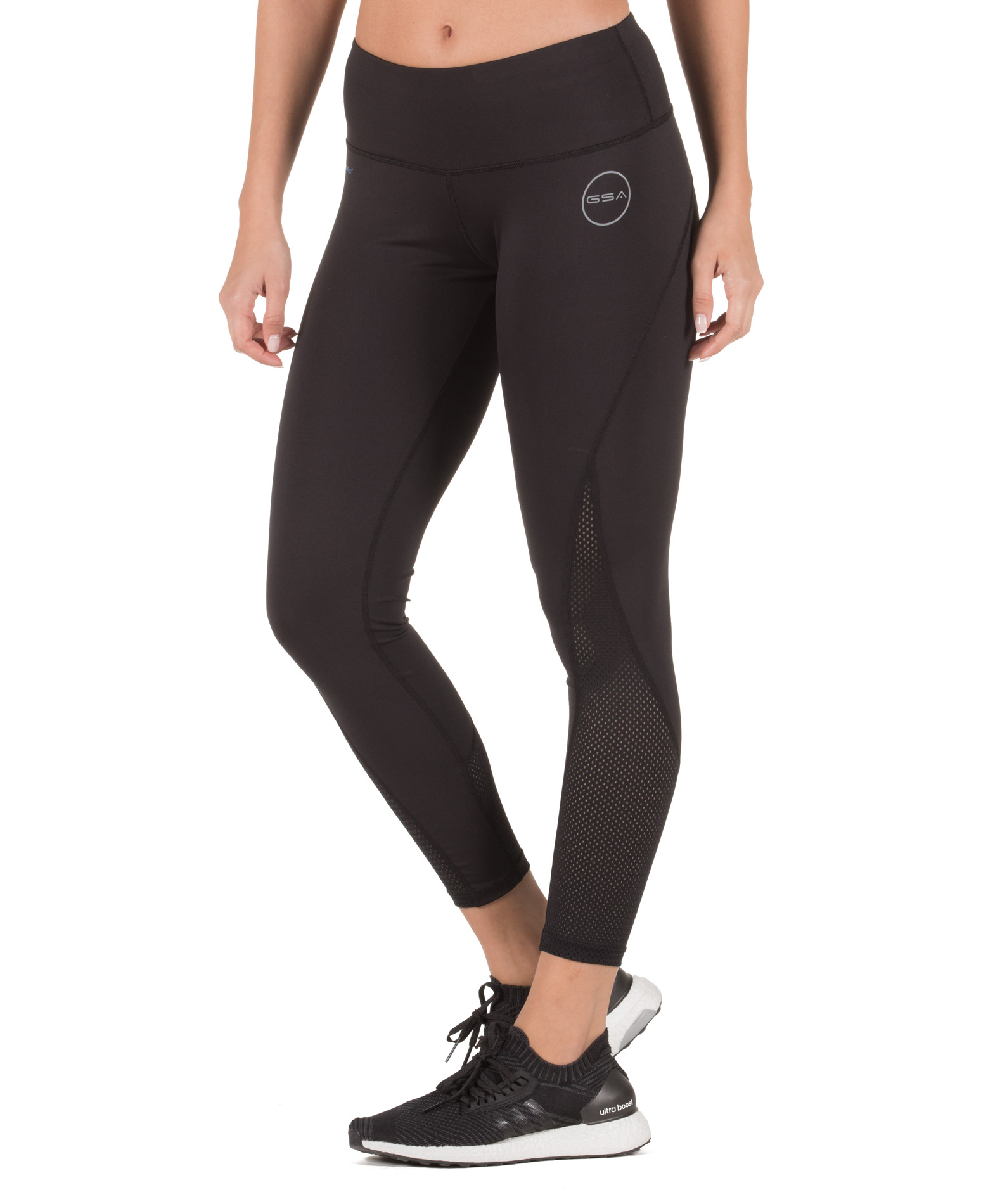 GSA HYDRO PERFORMANCE COMPRESSION LEGGINGS 17-28011-01 JET BLACK Μαύρο