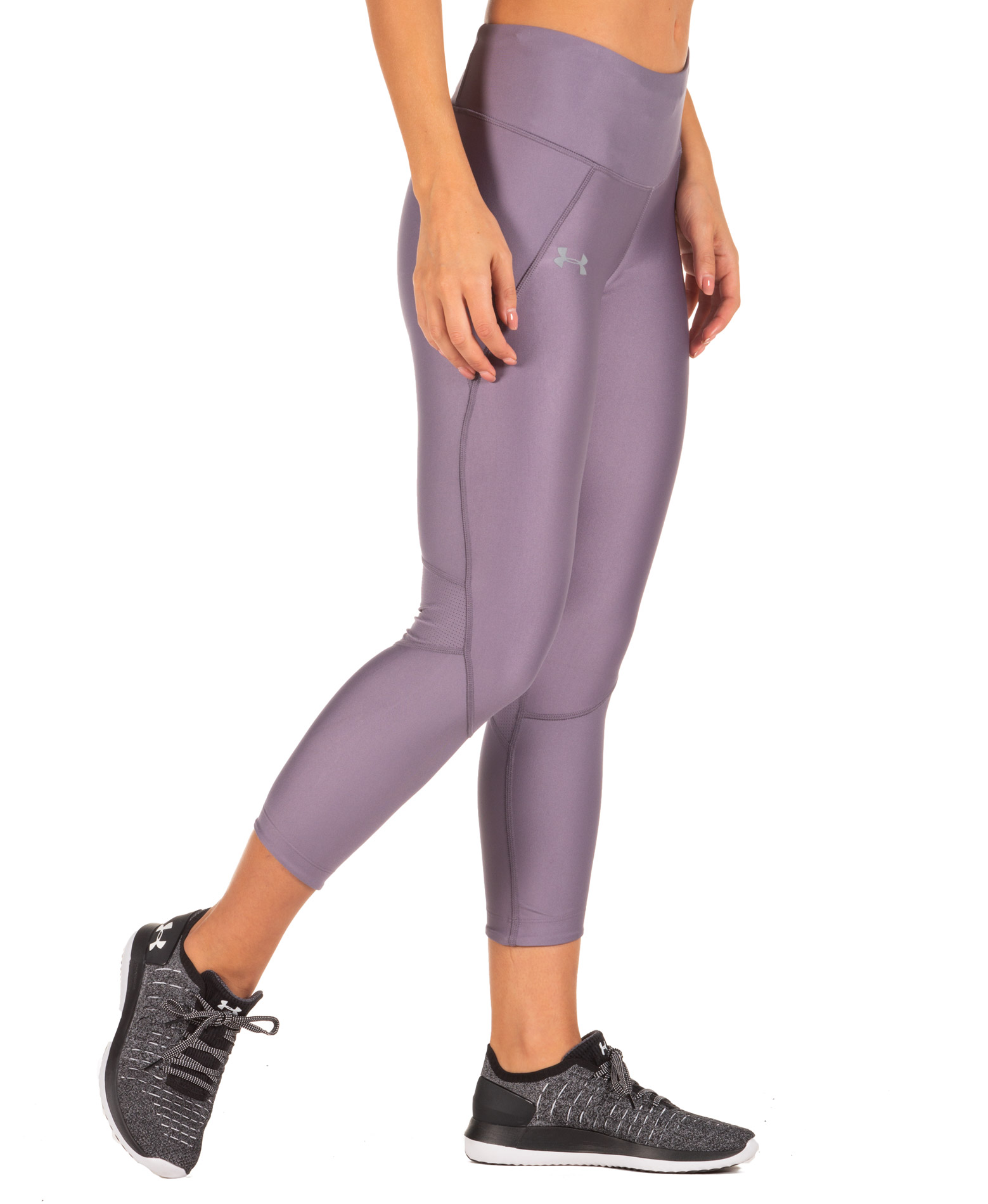 UNDER ARMOUR FLY FAST CROP 1317290-033 Ανθρακί