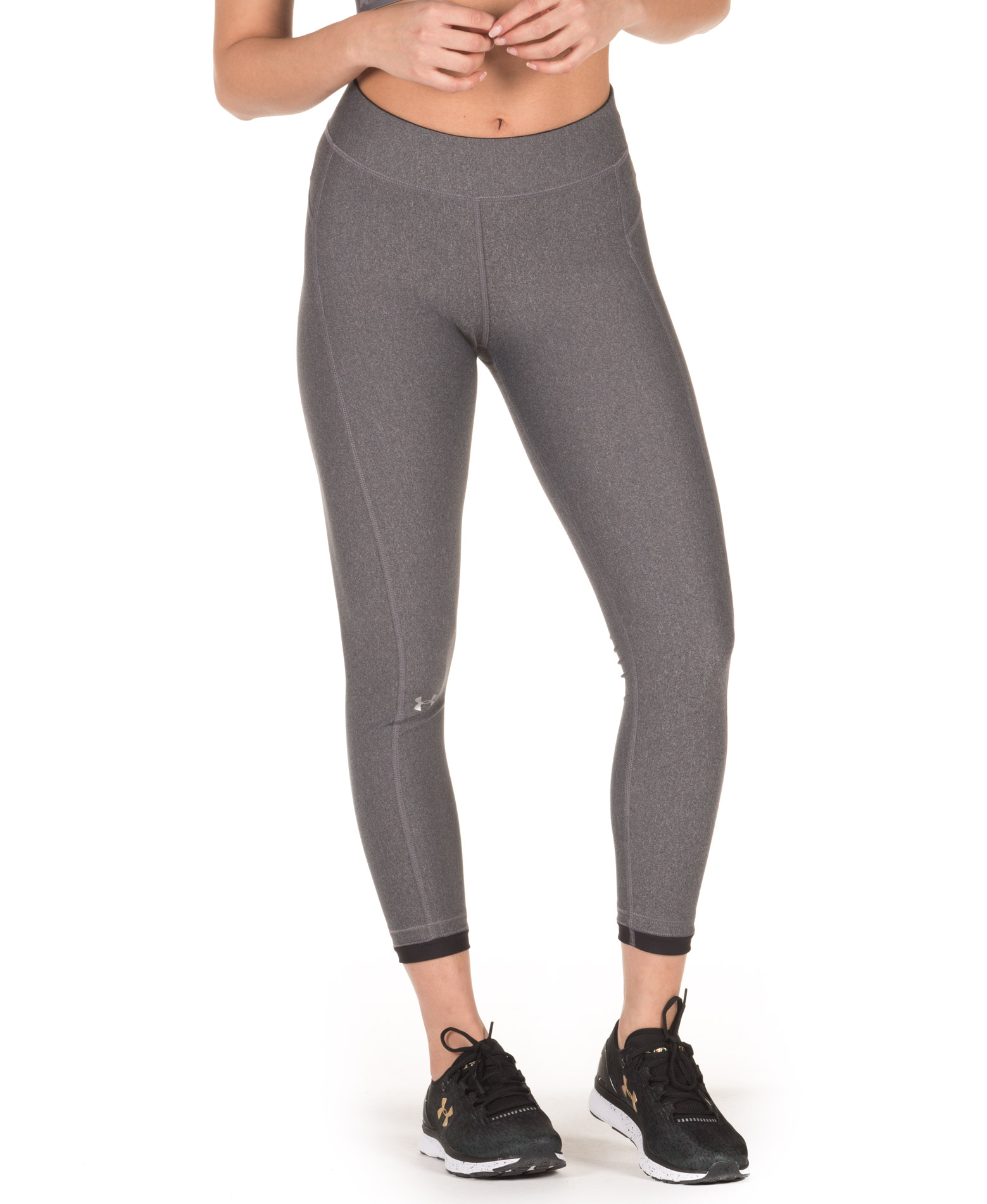 UNDER ARMOUR HG ARMOUR ANKLE CROP 1309628-019 Ανθρακί