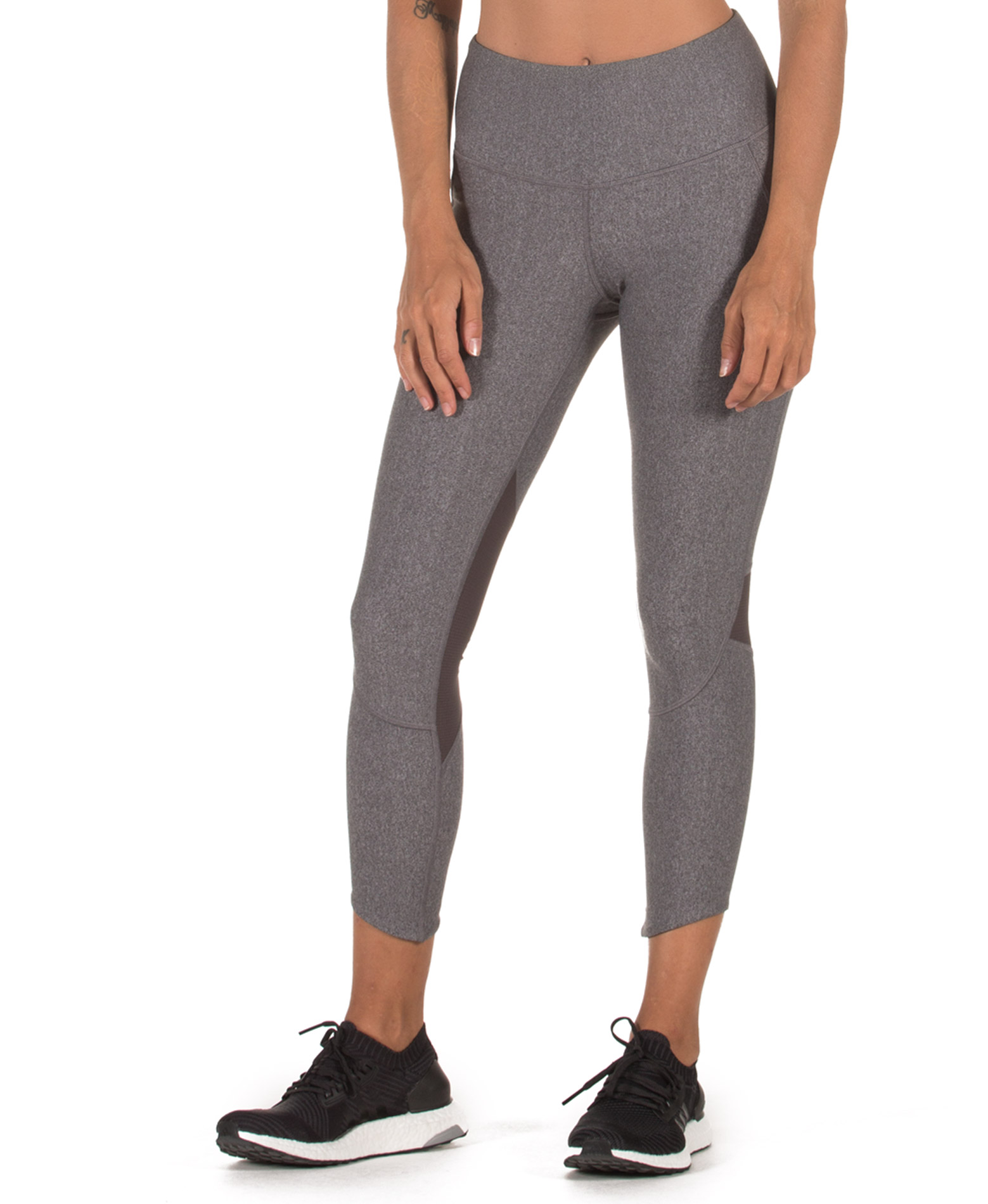 UNDER ARMOUR FLY FAST CROP 1317290-020 Ανθρακί