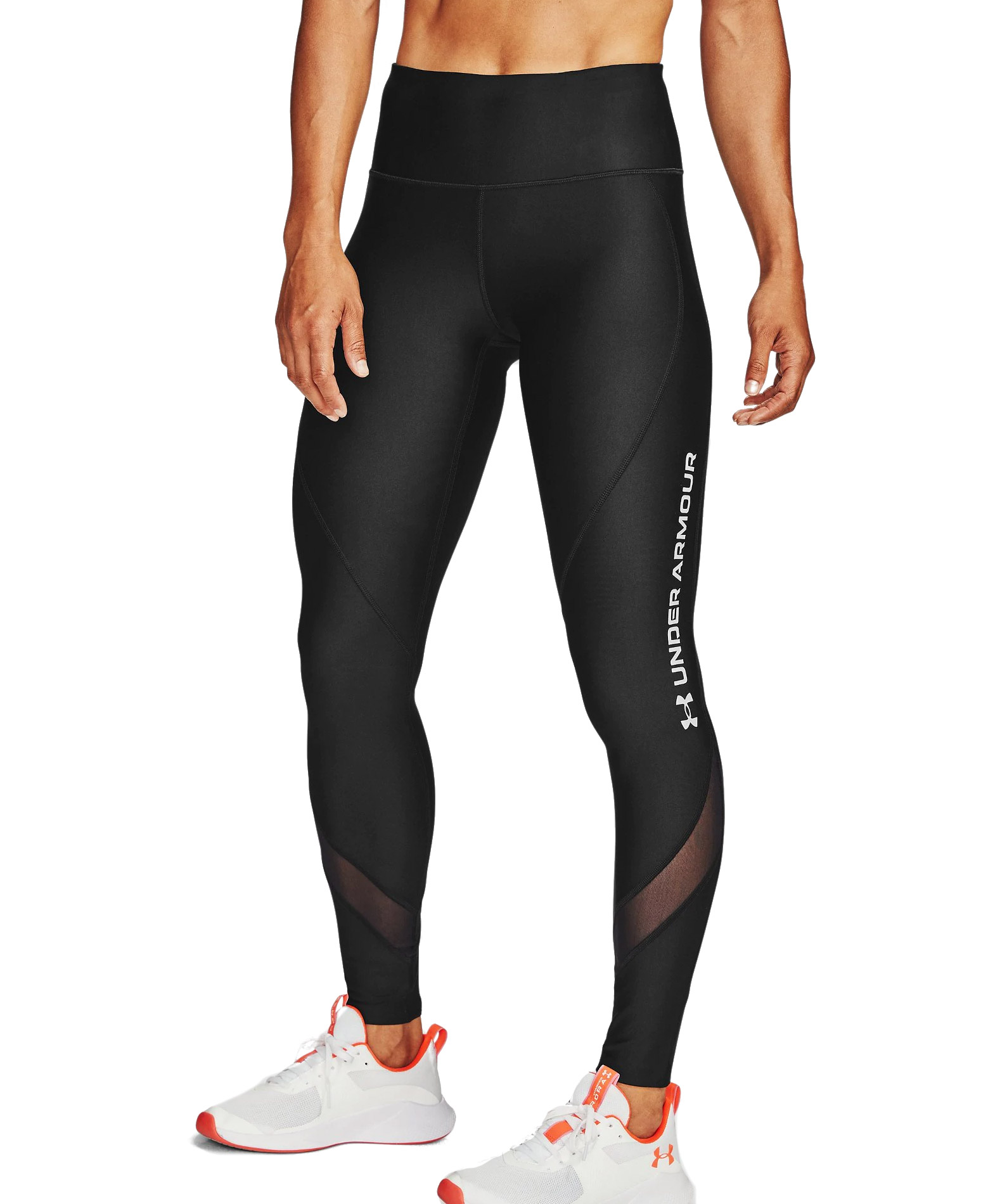 UNDER ARMOUR HG WM LEGGING 1356409-001 Μαύρο