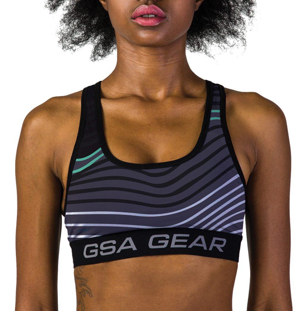 GSAHYDRO+ SUBLIMATION PERFORMANCE COMPRESSION BRA-03 TYPE