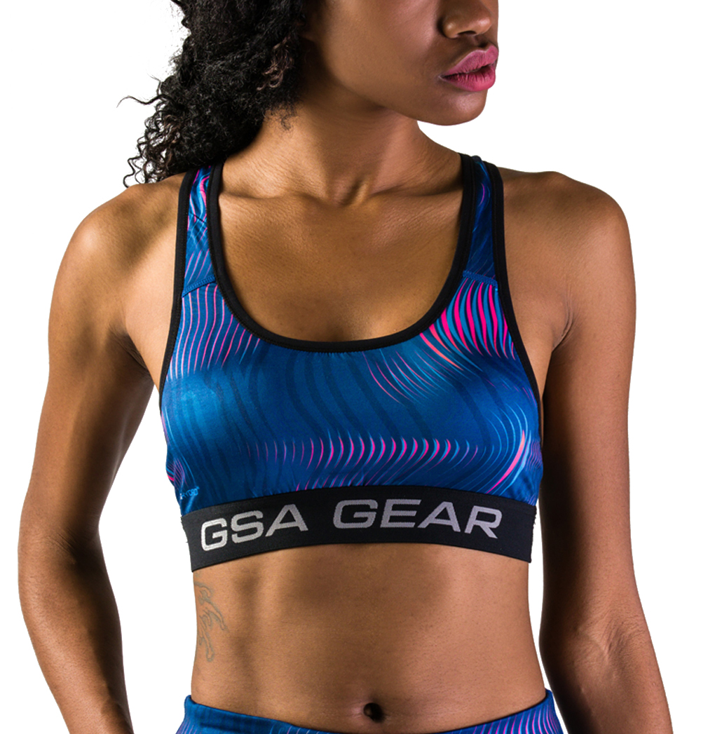 GSAHYDRO+ SUBLIMATION PERFORMANCE COMPRESSION BRA-01 TYPE Πολύχρωμο