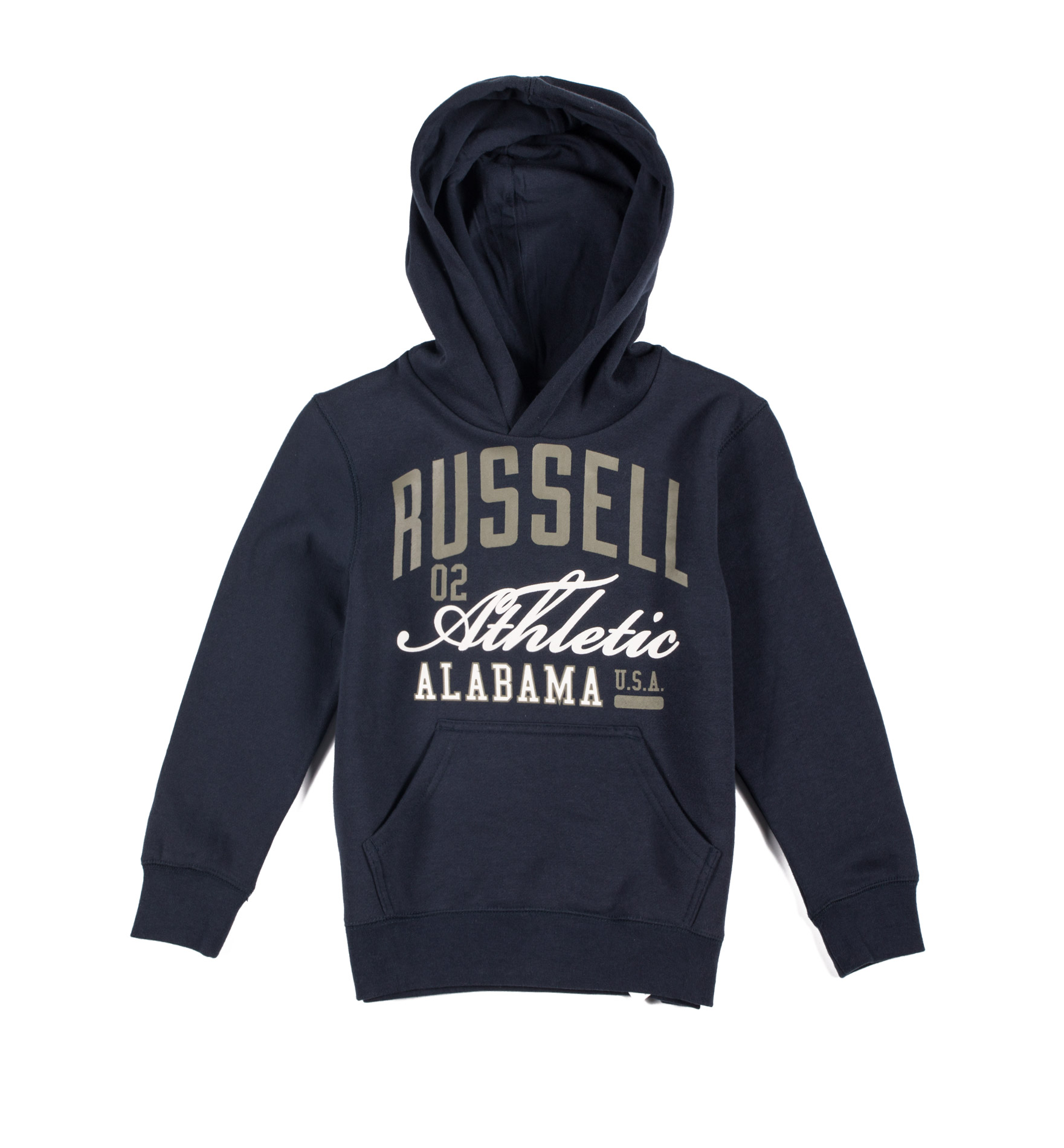 RUSSELL ATHLETIC PULL OVER HOODIE A7-914-2-190 Μπλε παιδι   ενδυματα   μπλούζες