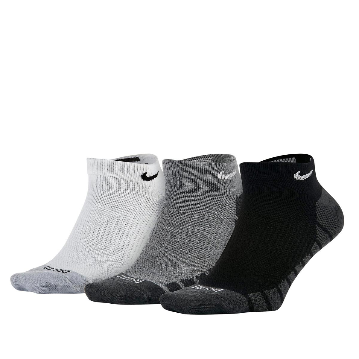 NIKE DRY LIGHTWEIGHT NO-SHOW TRAINING SOCK 3PP SX6940-900 Πολύχρωμο