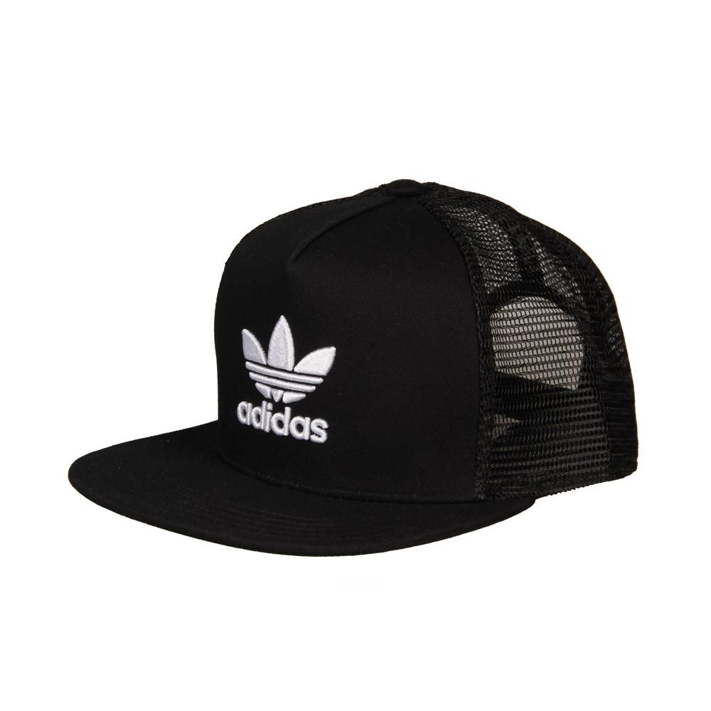 adidas Originals TREFOIL TRUCKER BK7308 Μαύρο αξεσουάρ   αξεσουάρ   καπέλα
