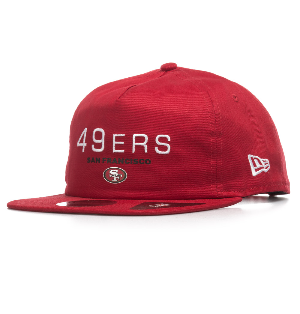 NEW ERA SAN FRANCISCO 49ERS OTC 80536655 Κόκκινο