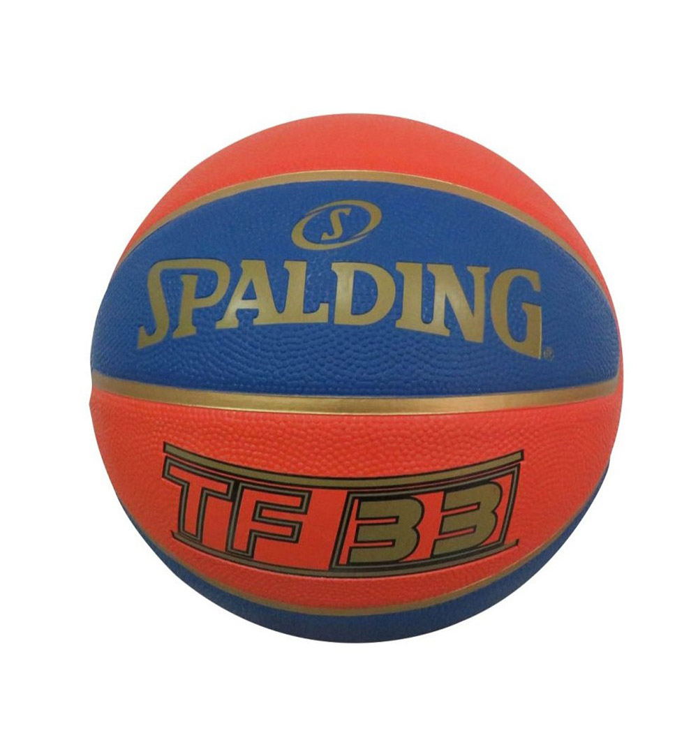 SPALDING TF-33 OFFICIAL GAME BALL RUBBER SIZE6 83-489Z1 Πορτοκαλί αξεσουάρ   αξεσουάρ   μπάλες